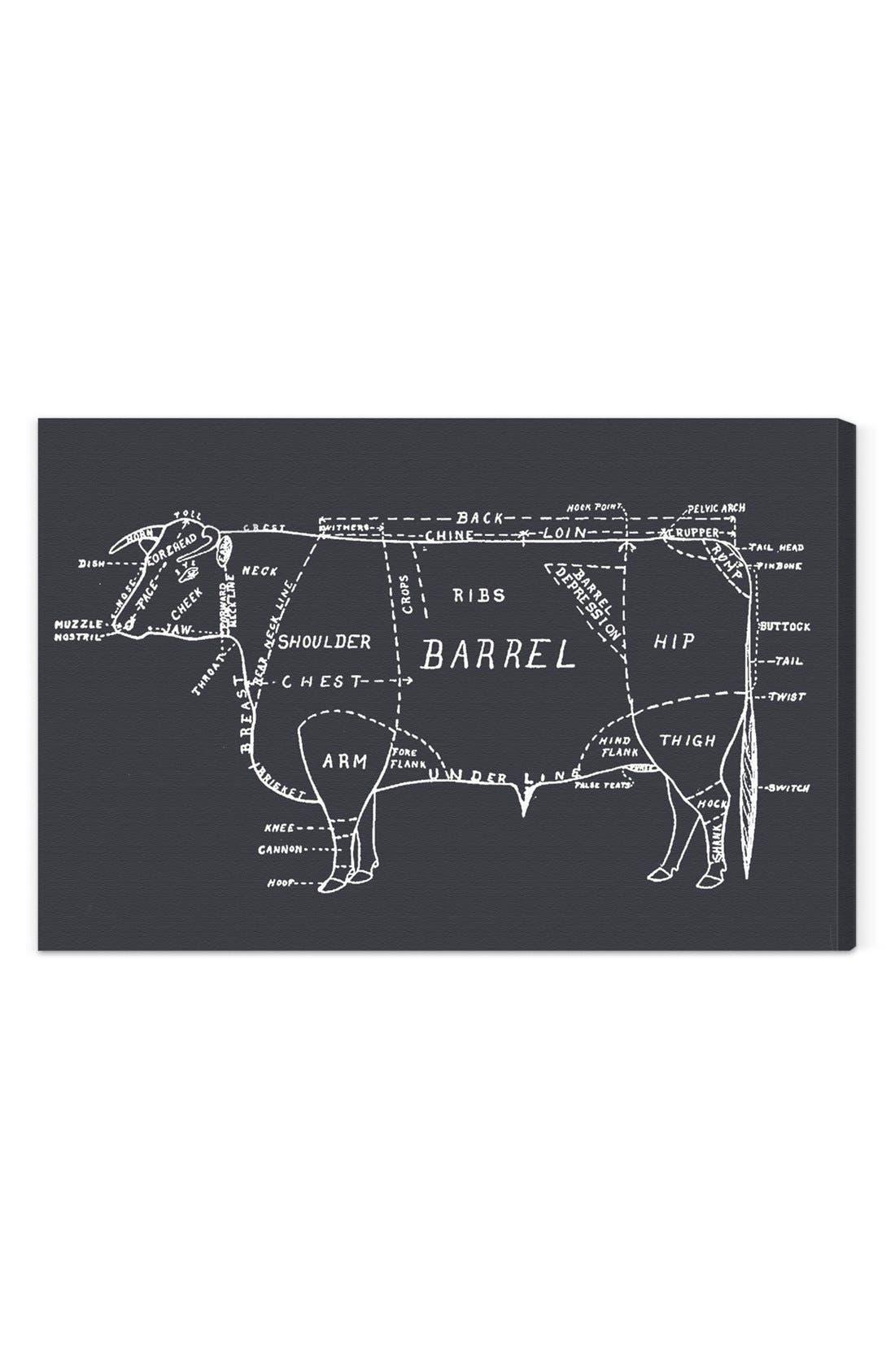'Beef' Wall Art,                             Main thumbnail 1, color,                             020