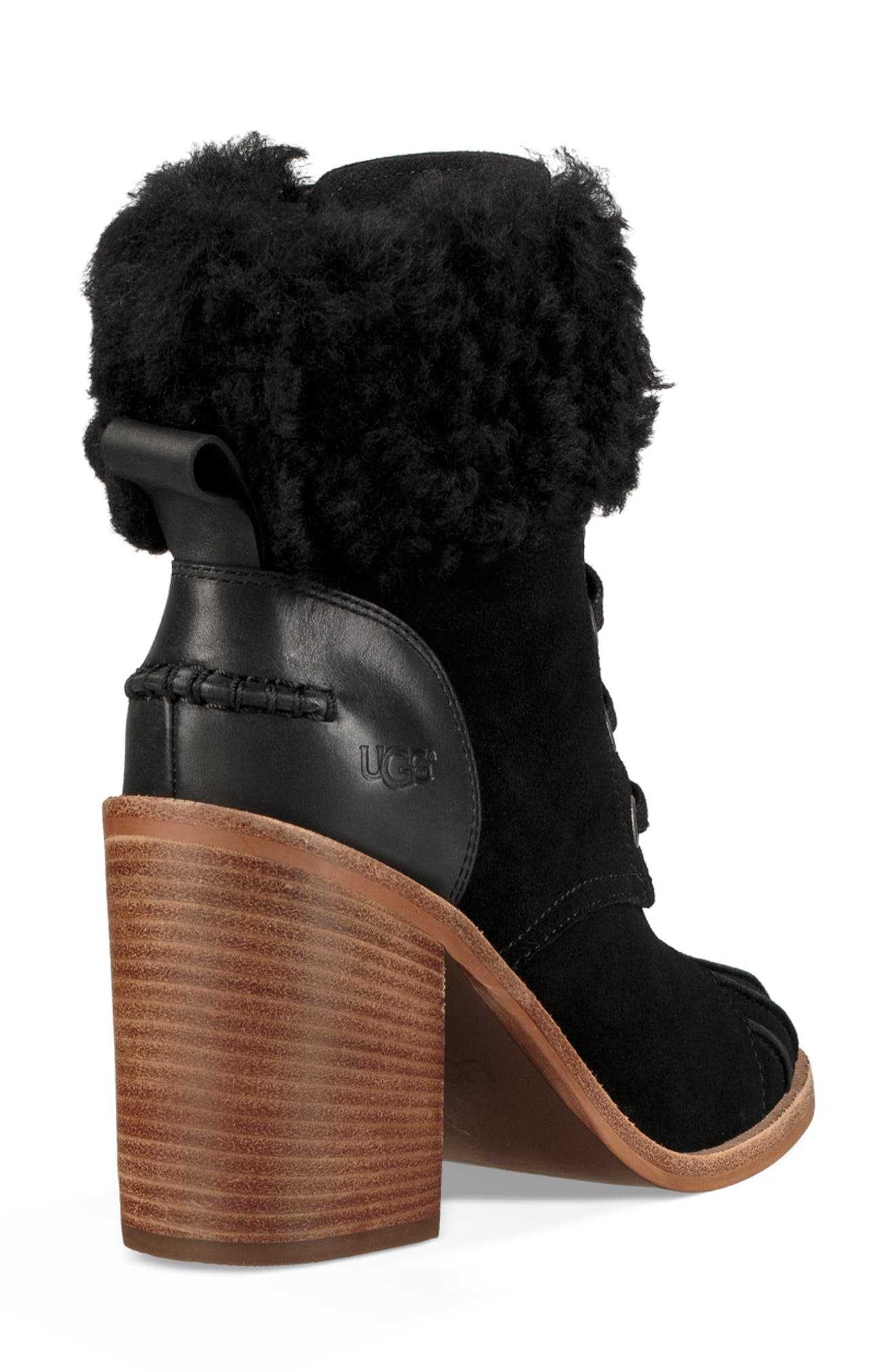 Jaxon Cuff Bootie,                             Alternate thumbnail 2, color,                             BLACK