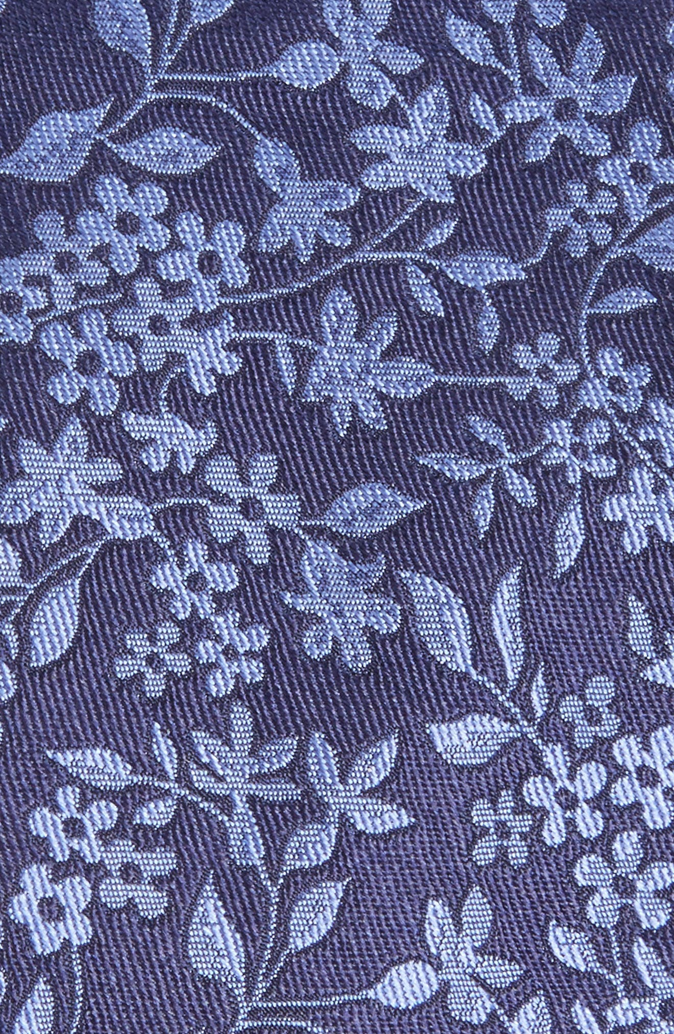 Elegant Botanical Silk Tie,                             Alternate thumbnail 2, color,                             411