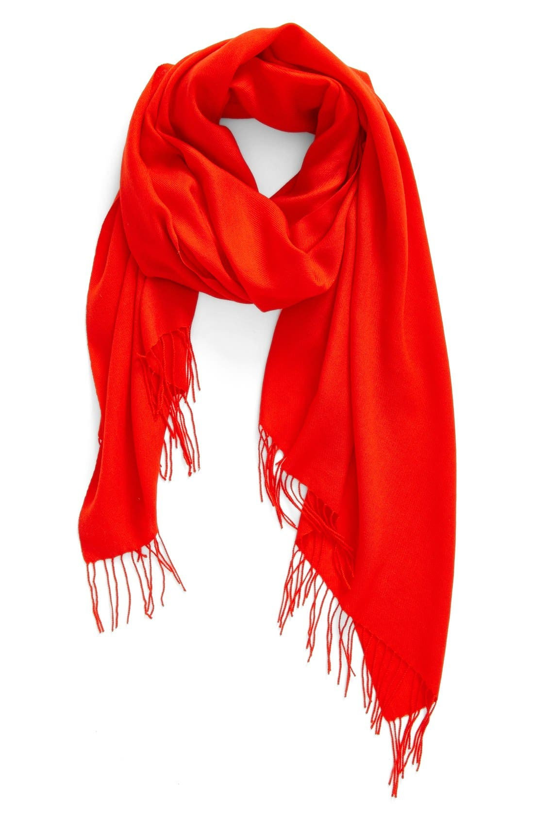 Tissue Weight Wool & Cashmere Scarf,                             Main thumbnail 60, color,