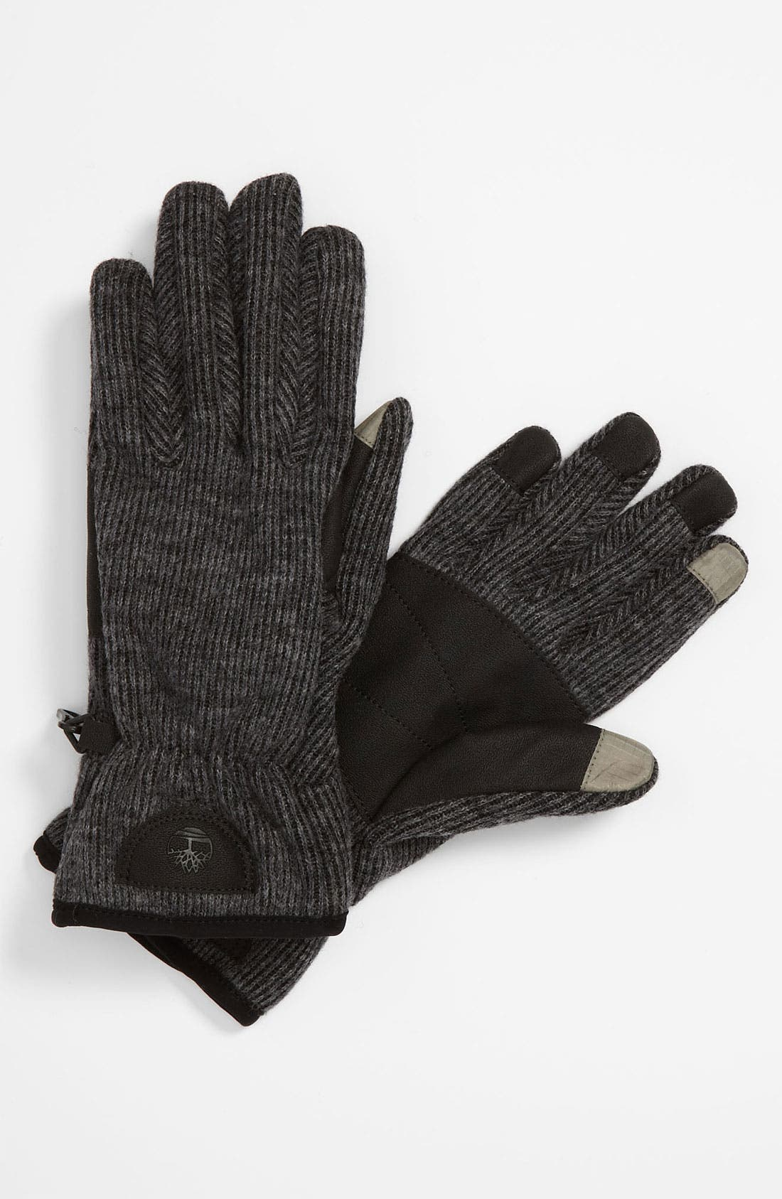 Knit Touch Screen Gloves, Main, color, 022