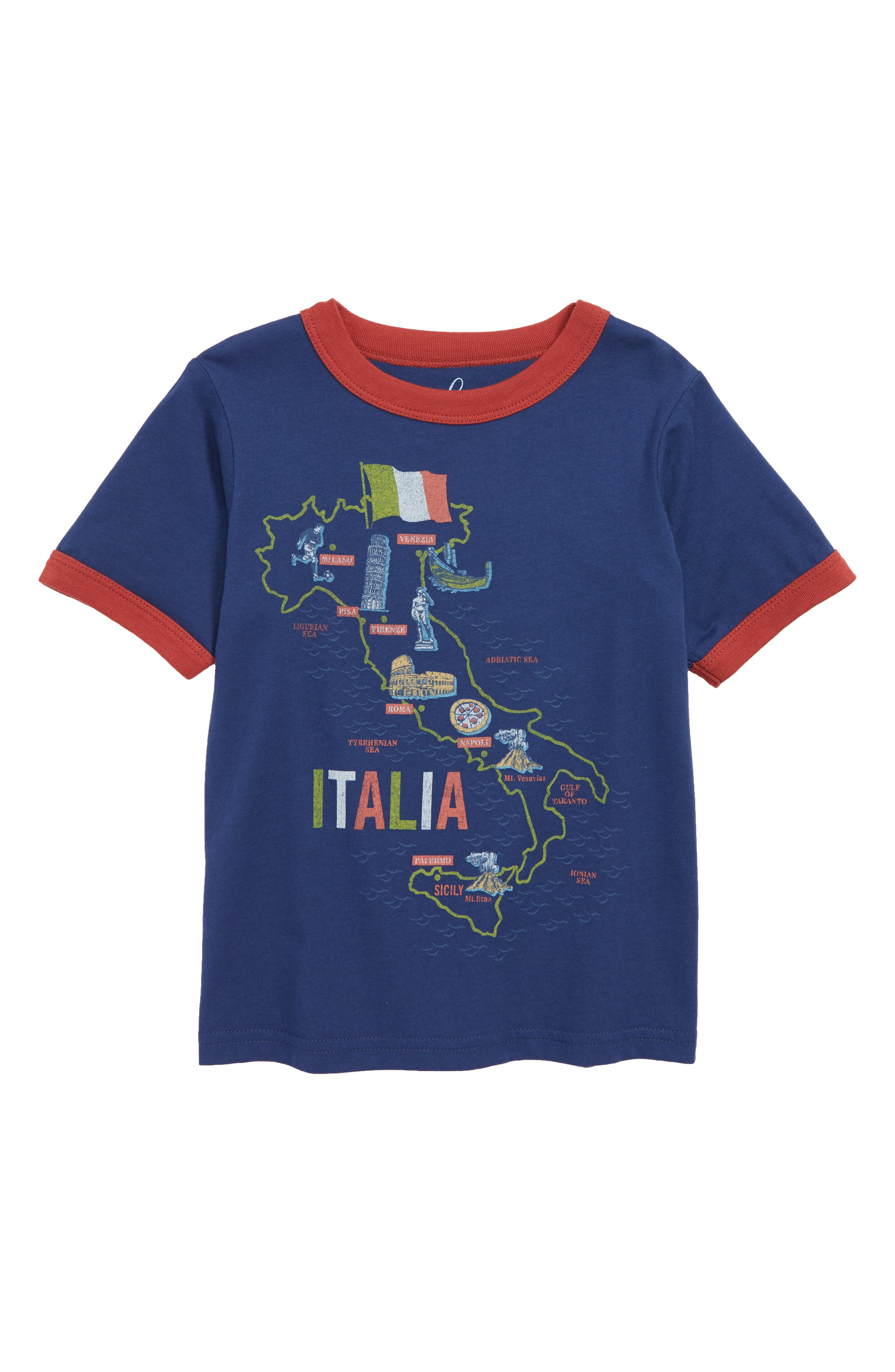 Italia Graphic T-Shirt,                         Main,                         color, 410