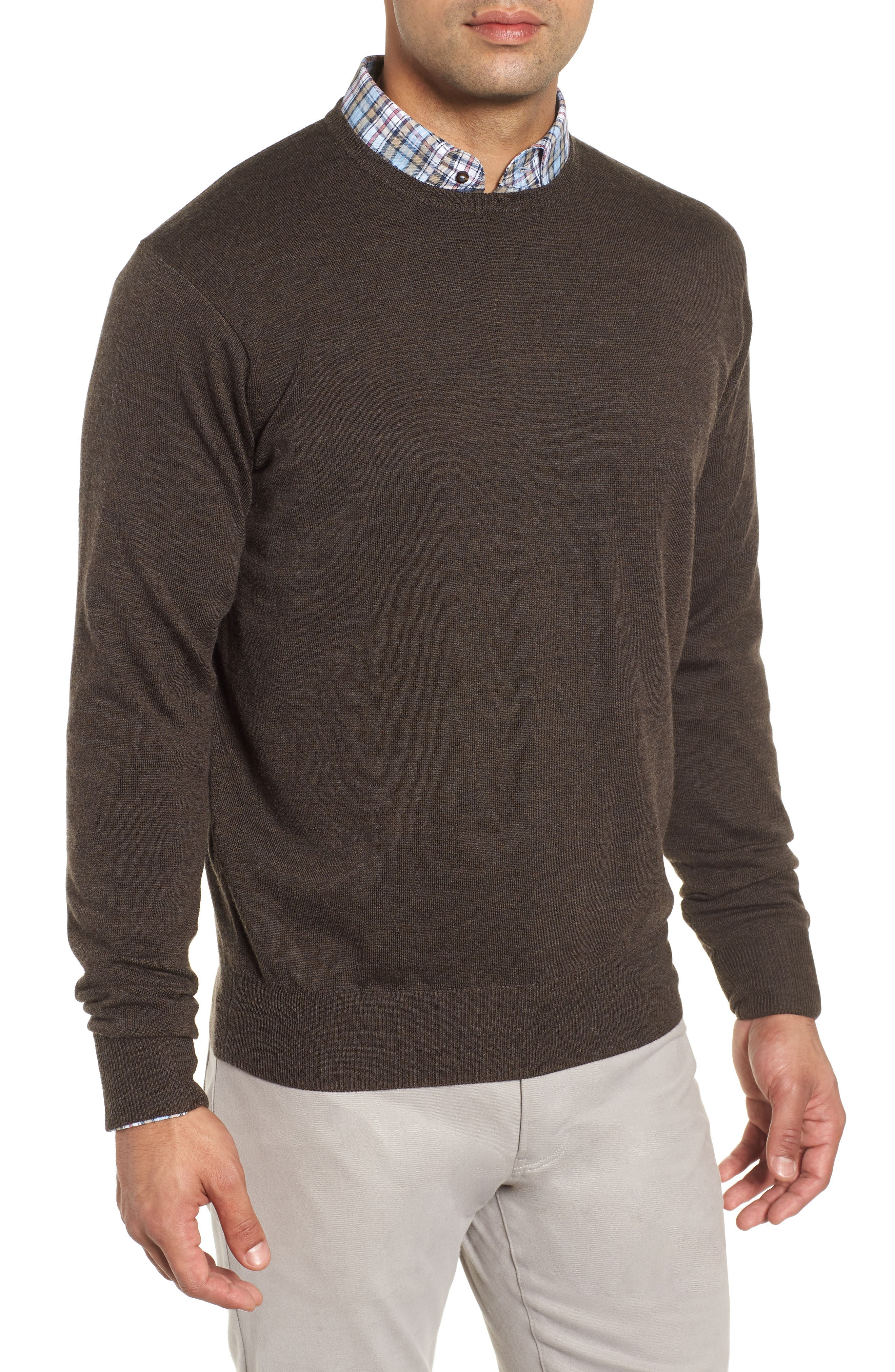 Crown Wool & Silk Sweater,                         Main,                         color, BRANCH