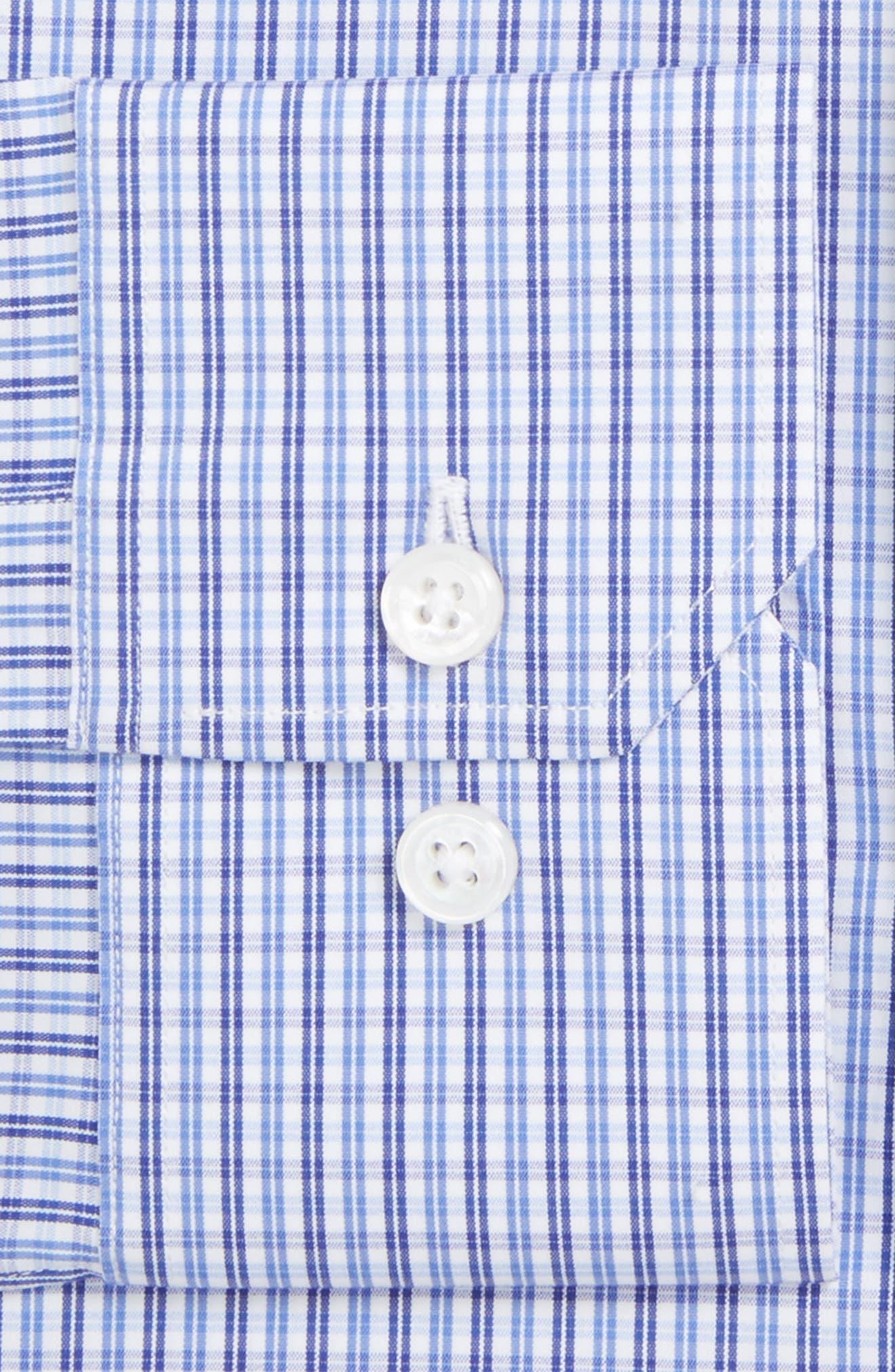 Jetsetter Slim Fit Check Stretch Dress Shirt,                         Main,                         color, 400