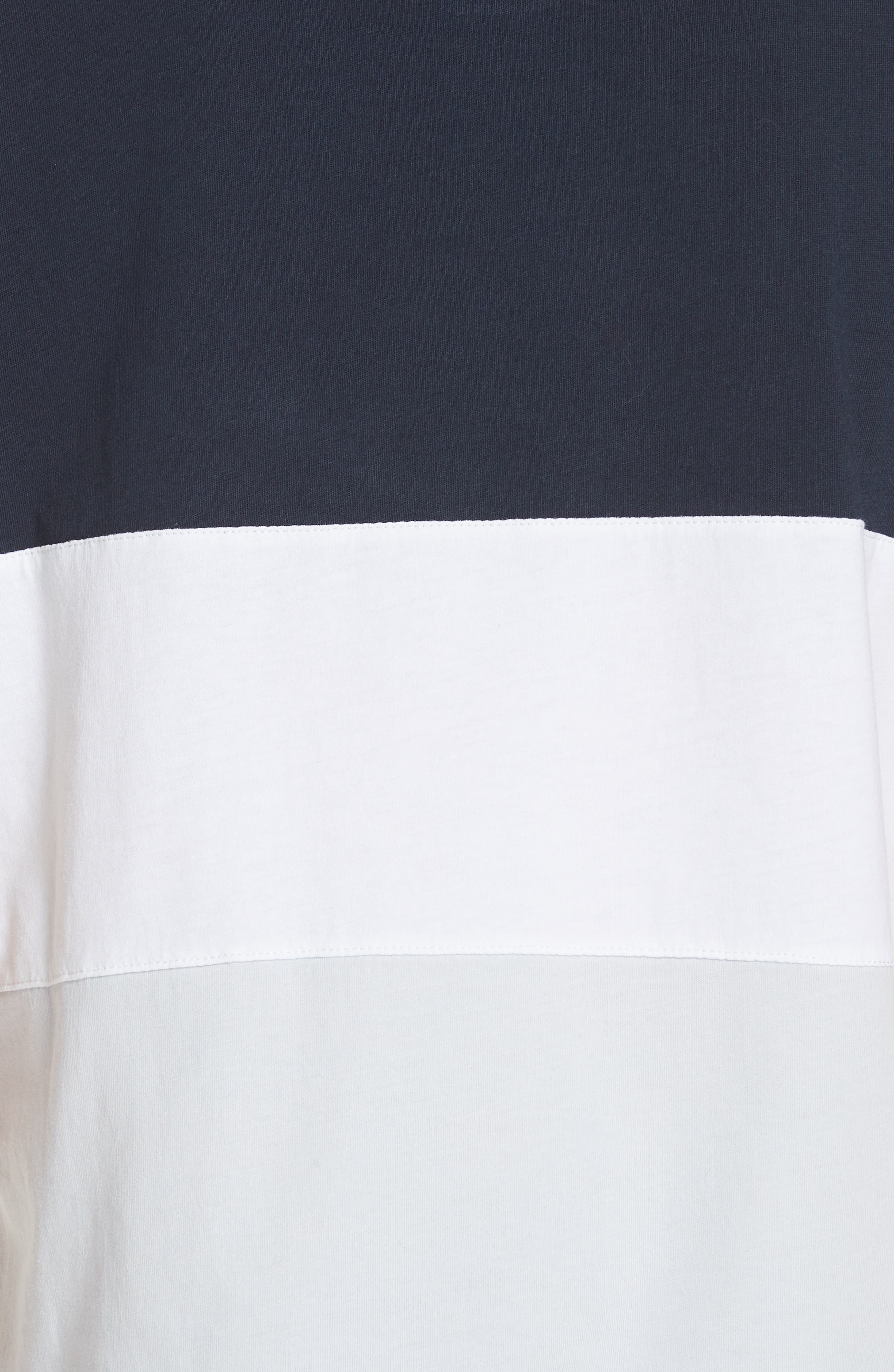 Colorblock Tee,                             Alternate thumbnail 5, color,                             NAVY WHITE BLUE COLOR BLOCK