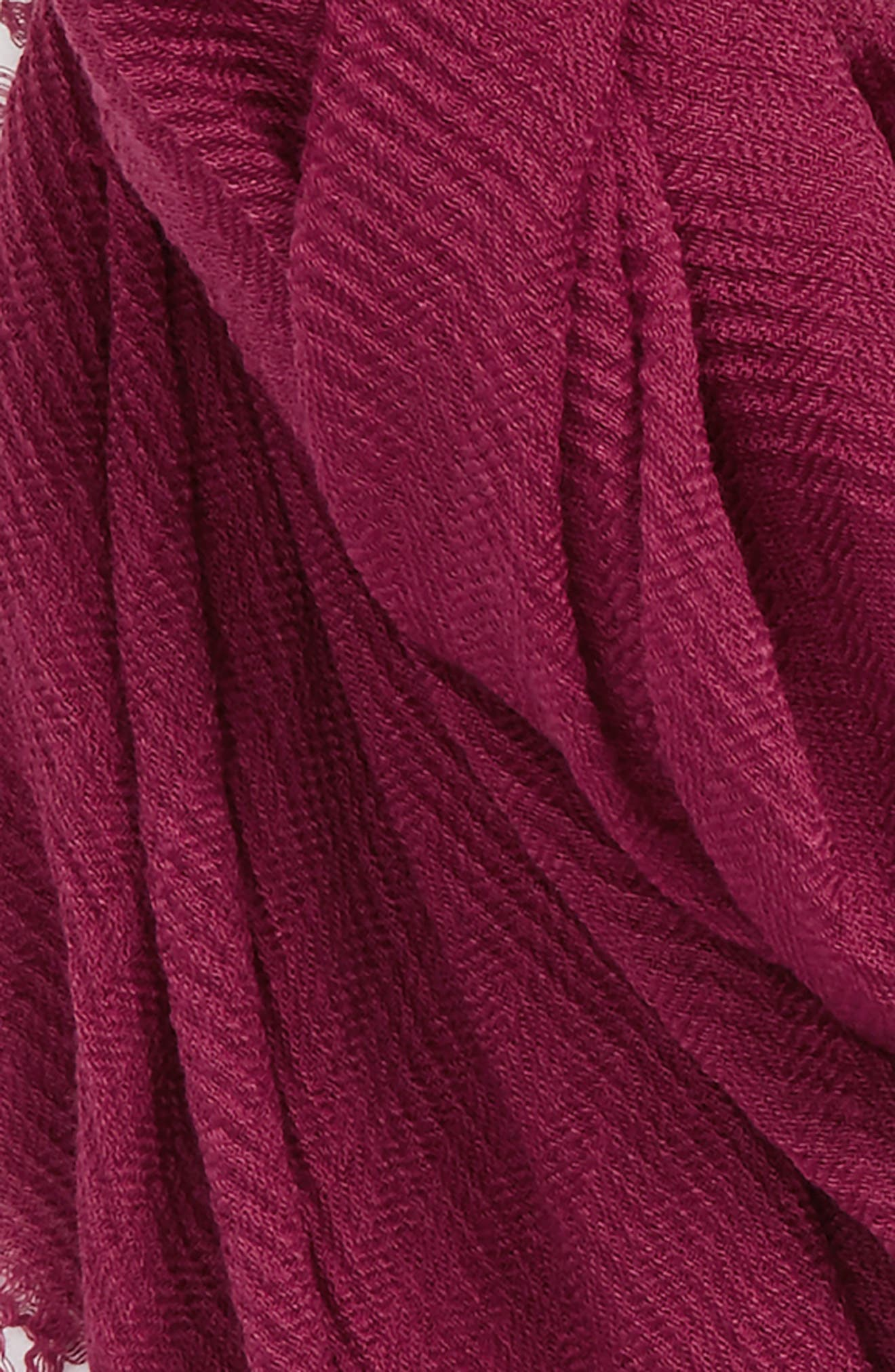Pleated Fringe Scarf,                             Alternate thumbnail 24, color,