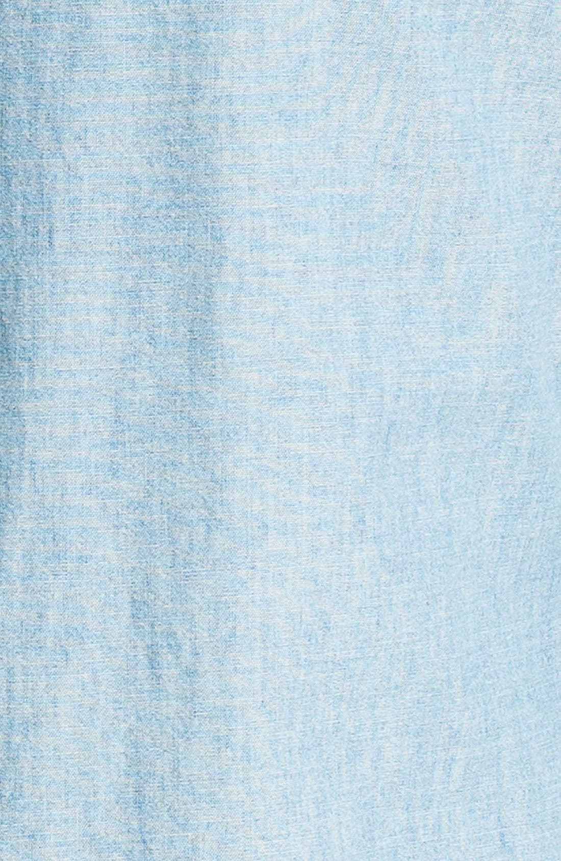 Classic Fit Chambray Sport Shirt,                             Alternate thumbnail 2, color,                             420