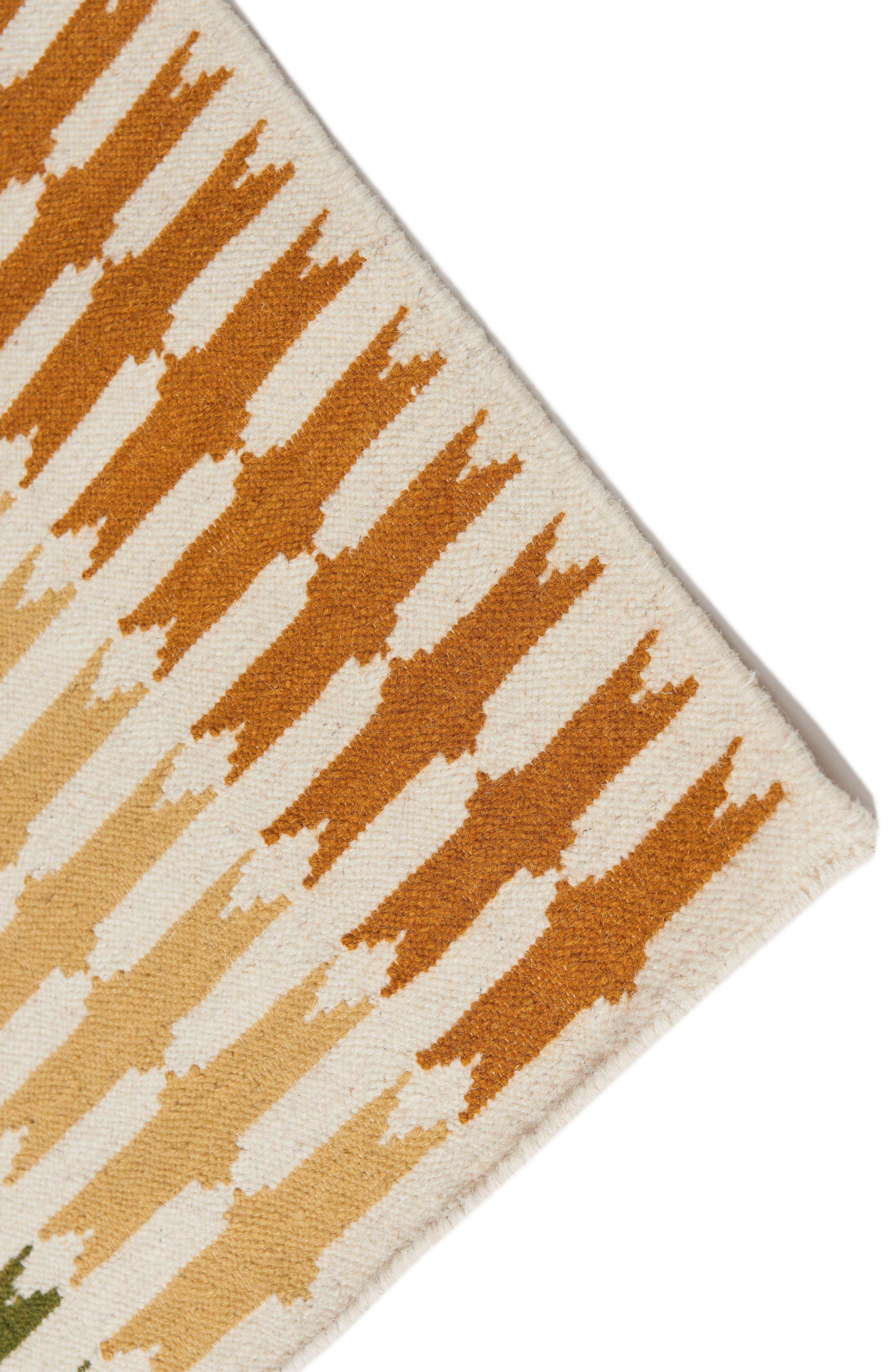 Saskia Flat Weave Rug,                             Alternate thumbnail 2, color,                             SASKIA