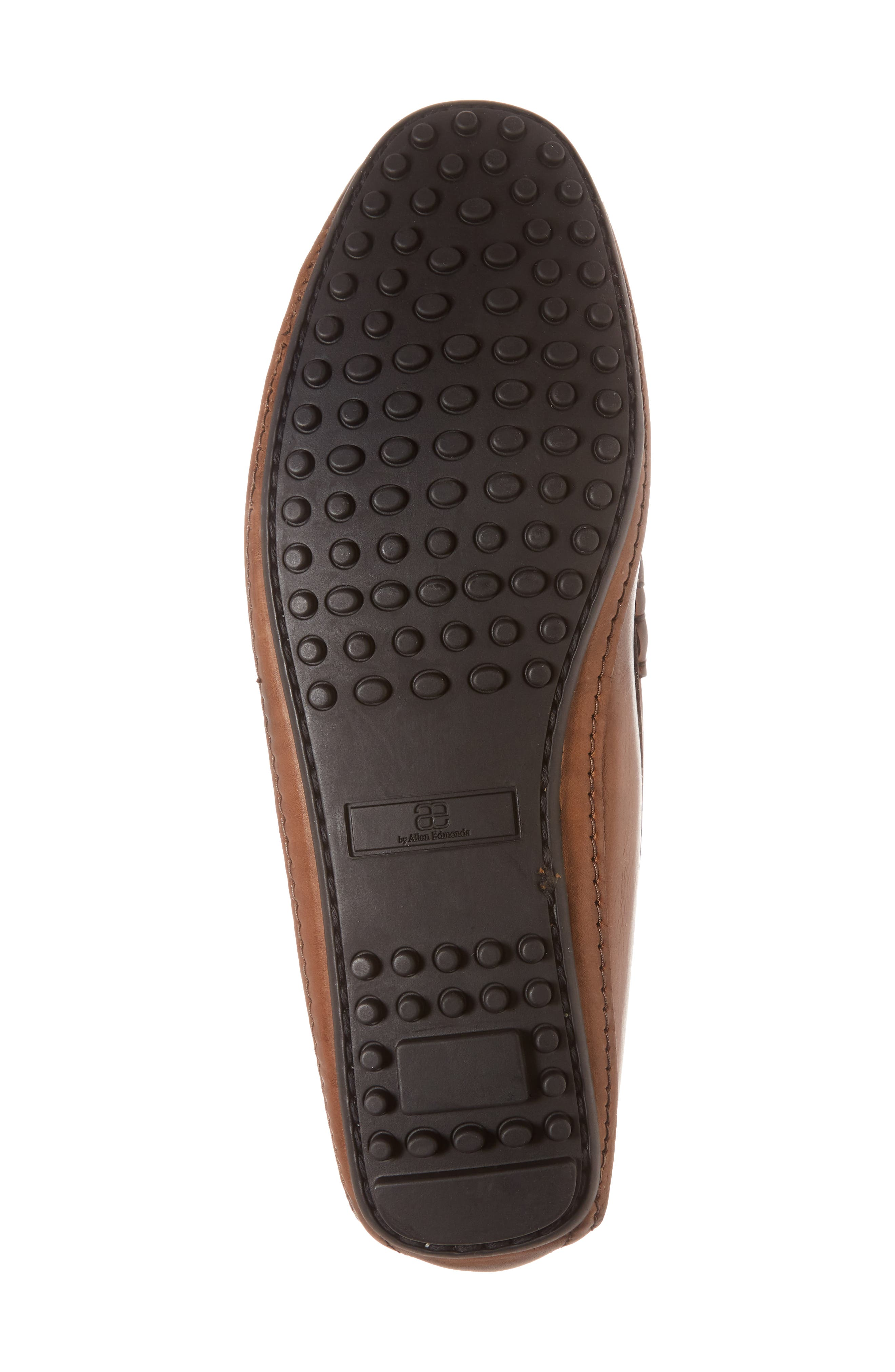 Siesta Key Penny Loafer,                             Alternate thumbnail 6, color,                             BROWN LEATHER