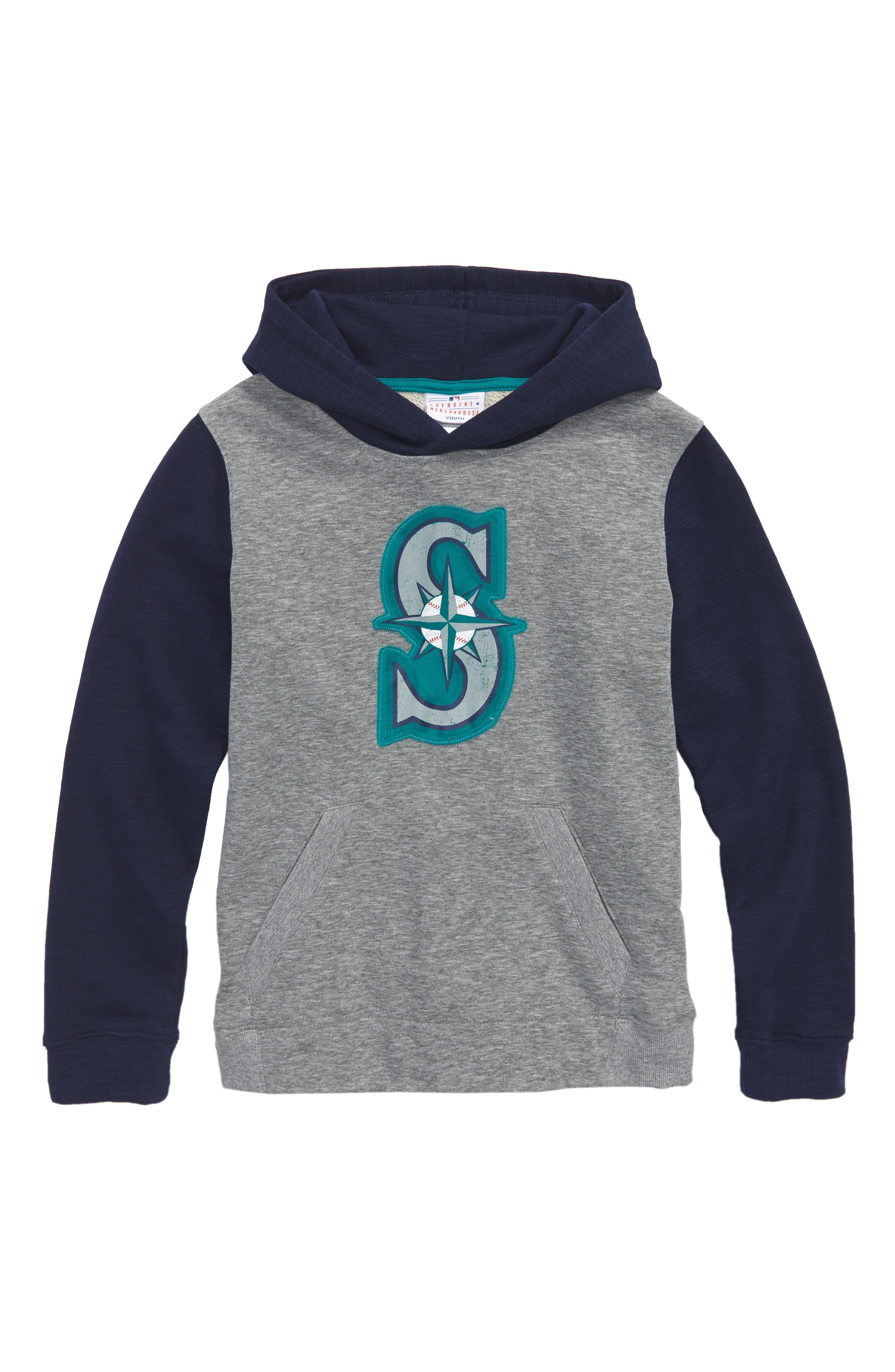 New Beginnings - Seattle Mariners Pullover Hoodie,                             Main thumbnail 1, color,                             020