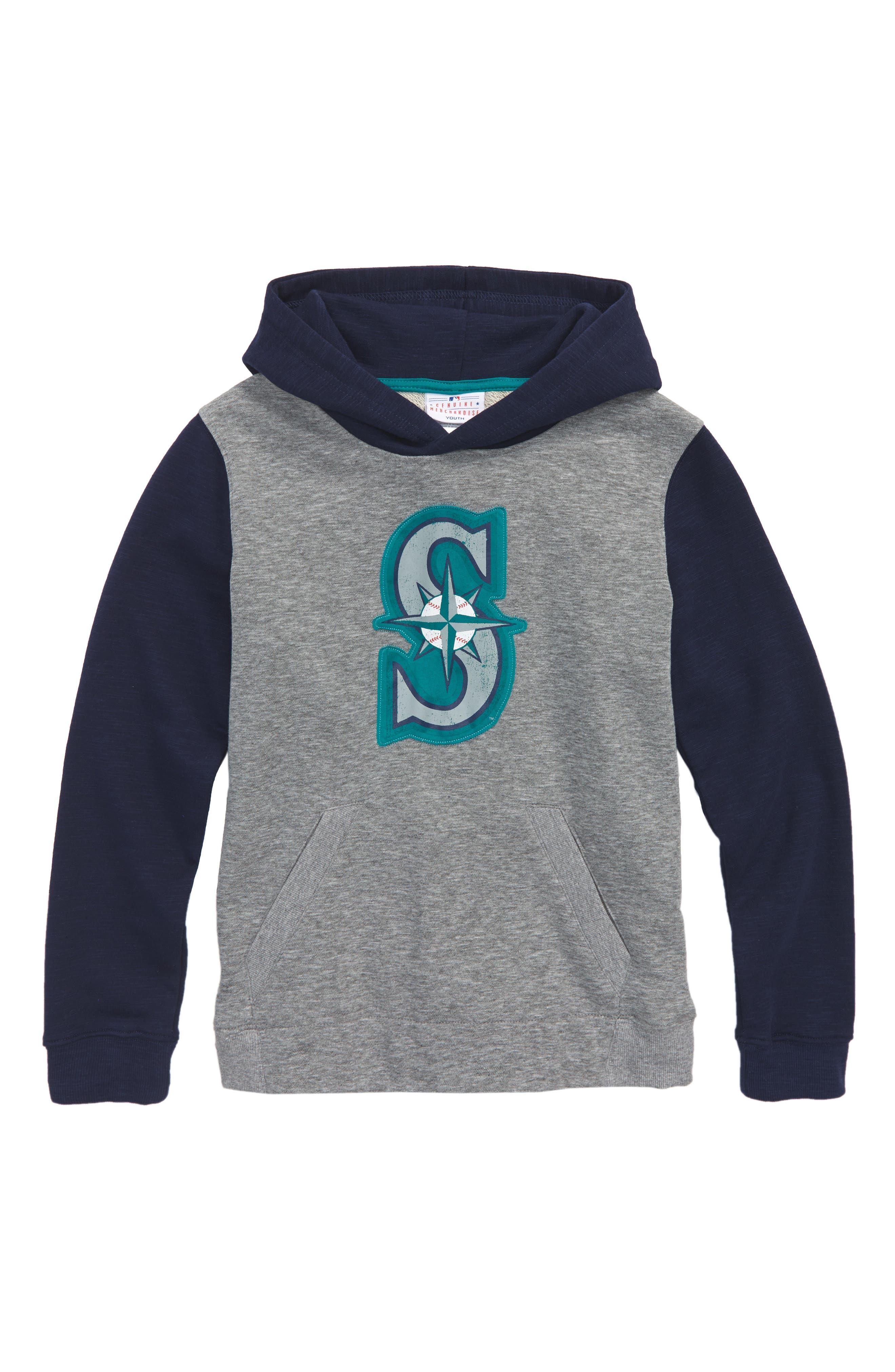 New Beginnings - Seattle Mariners Pullover Hoodie,                         Main,                         color, 020