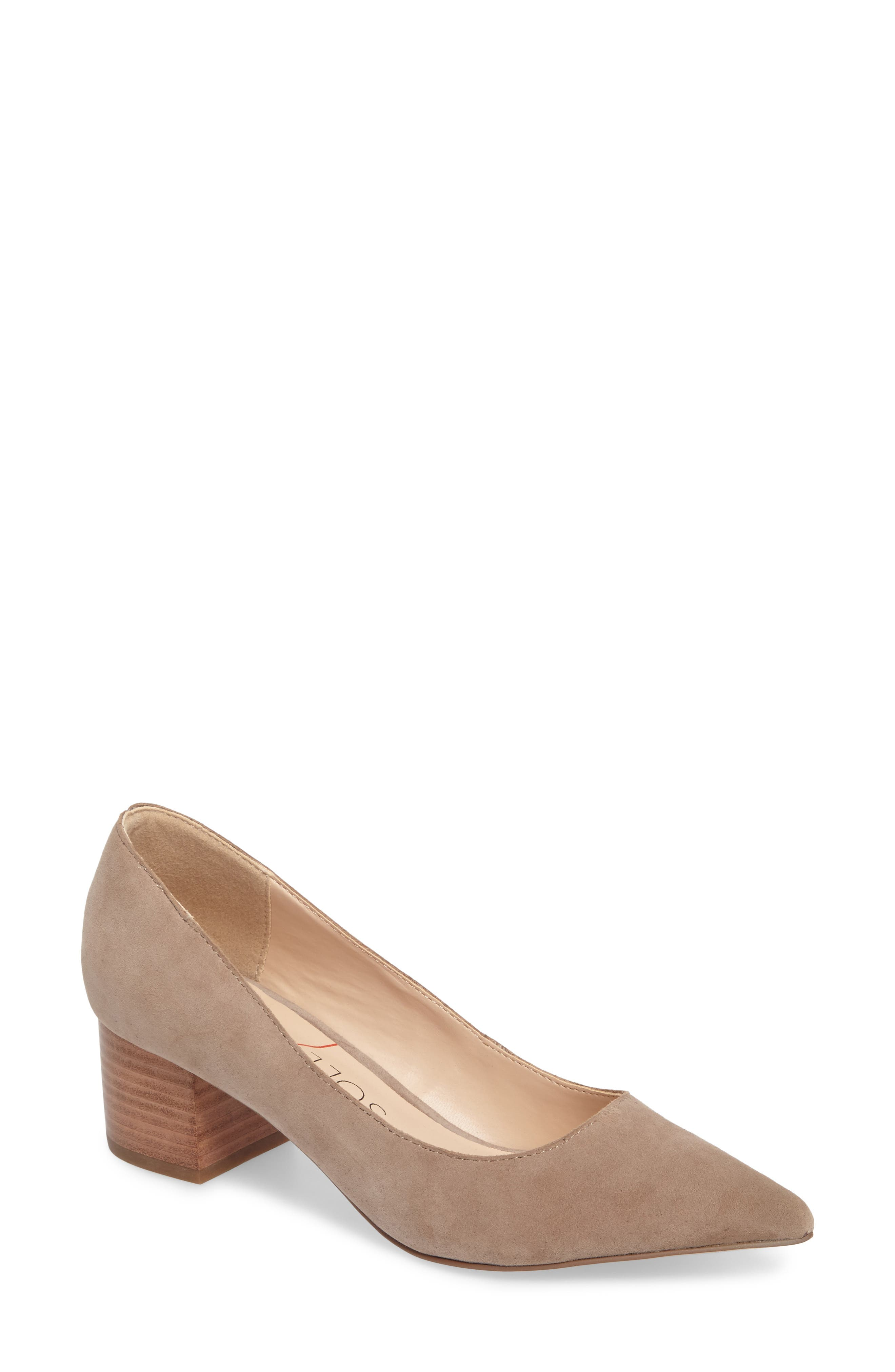 Andorra Genuine Calf Hair Pump,                             Main thumbnail 2, color,