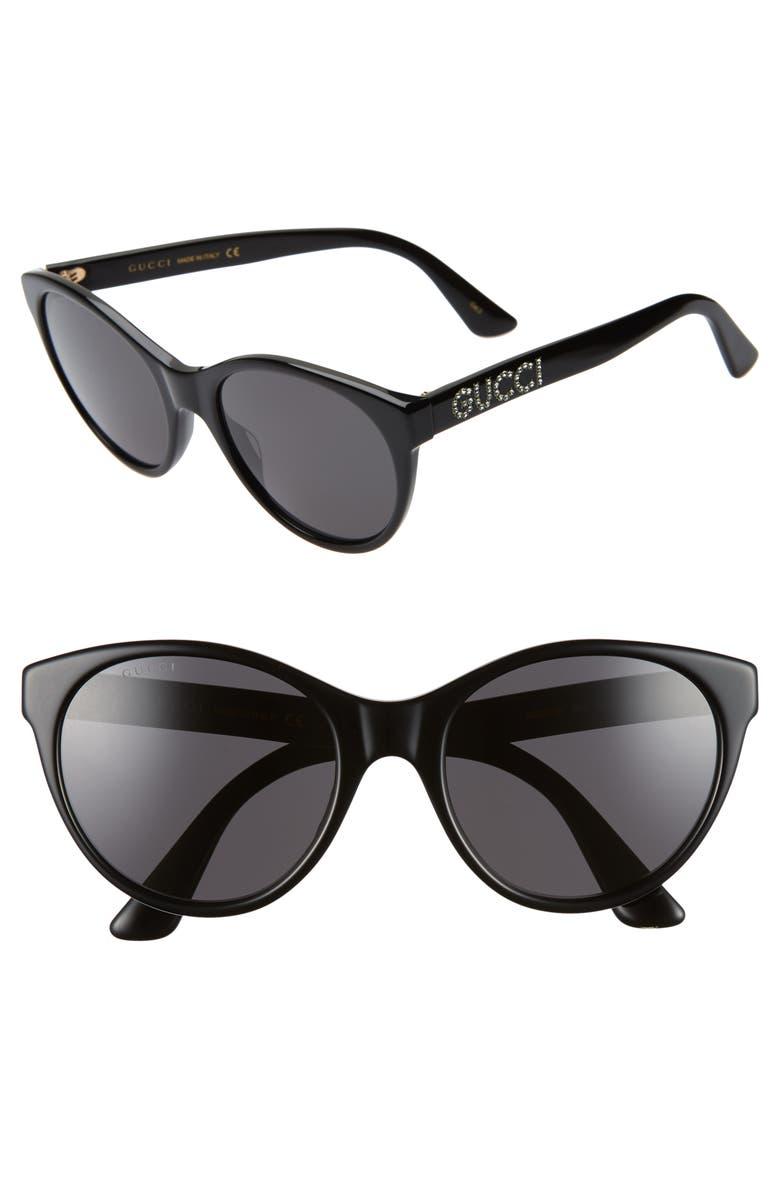 f268571fc5 Gucci 54mm Round Cat Eye Sunglasses
