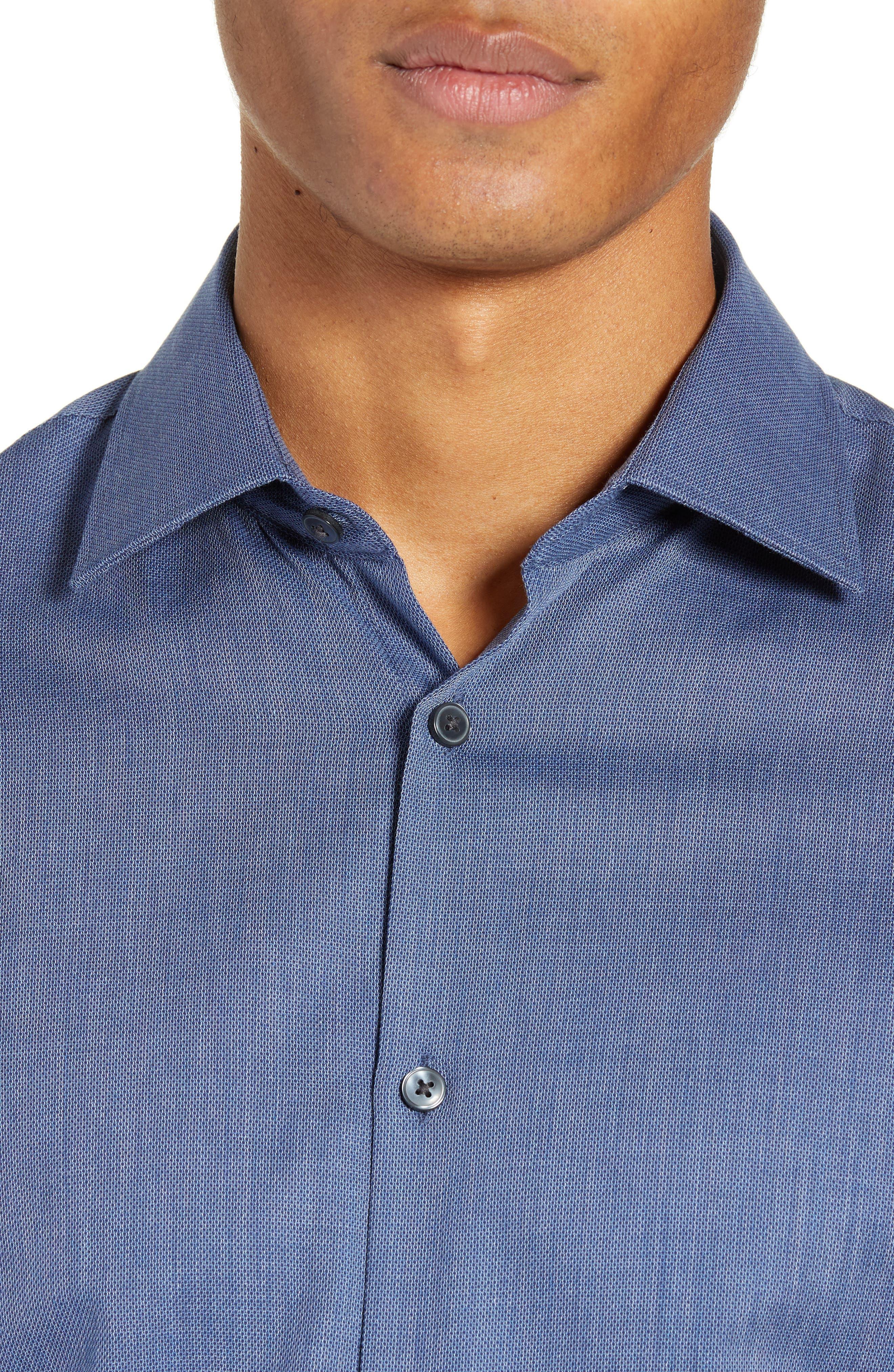 JOHN VARVATOS STAR USA,                             Regular Fit Solid Dress Shirt,                             Alternate thumbnail 2, color,                             415