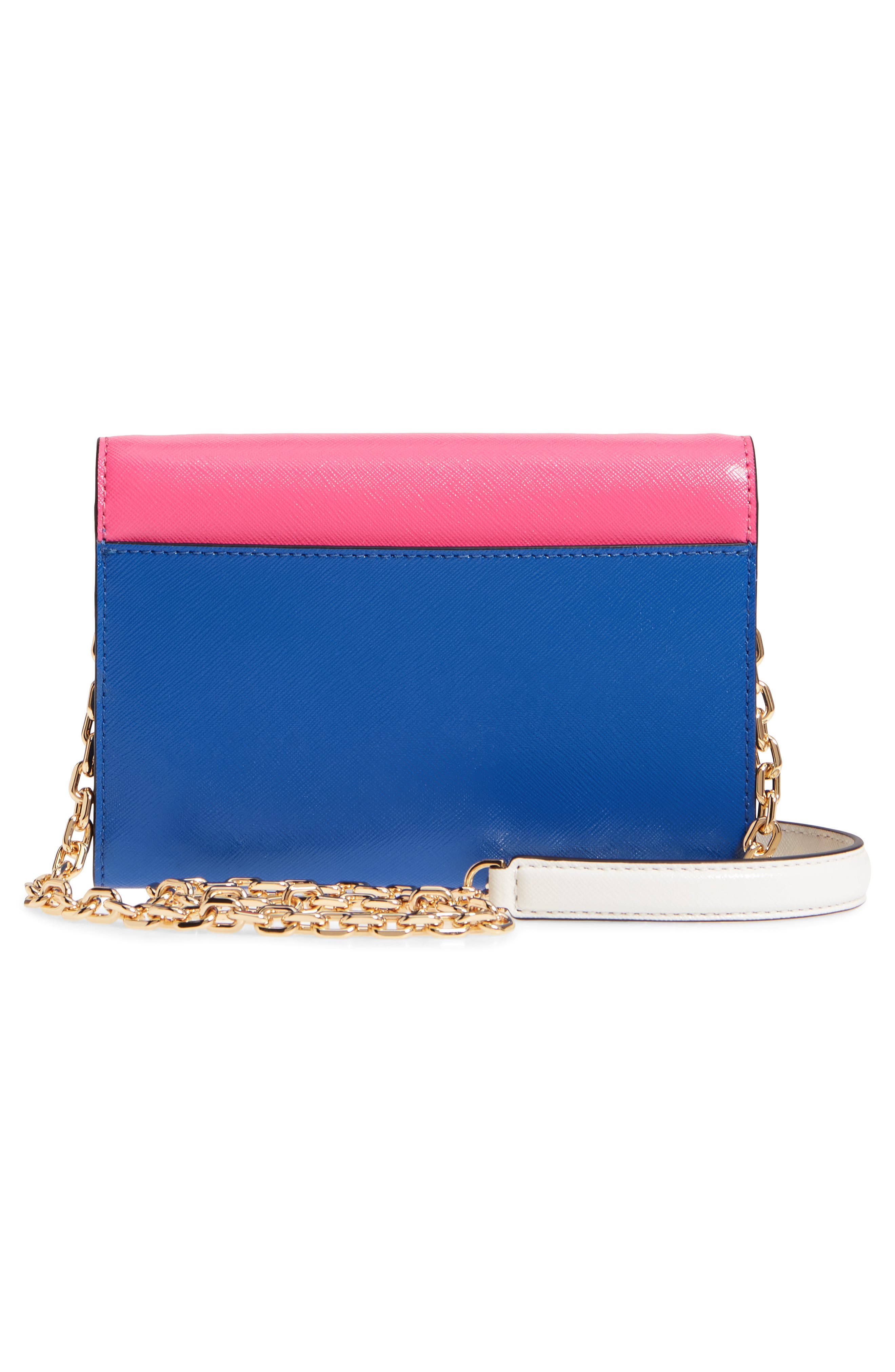 Snapshot Leather Wallet on a Chain,                             Alternate thumbnail 32, color,
