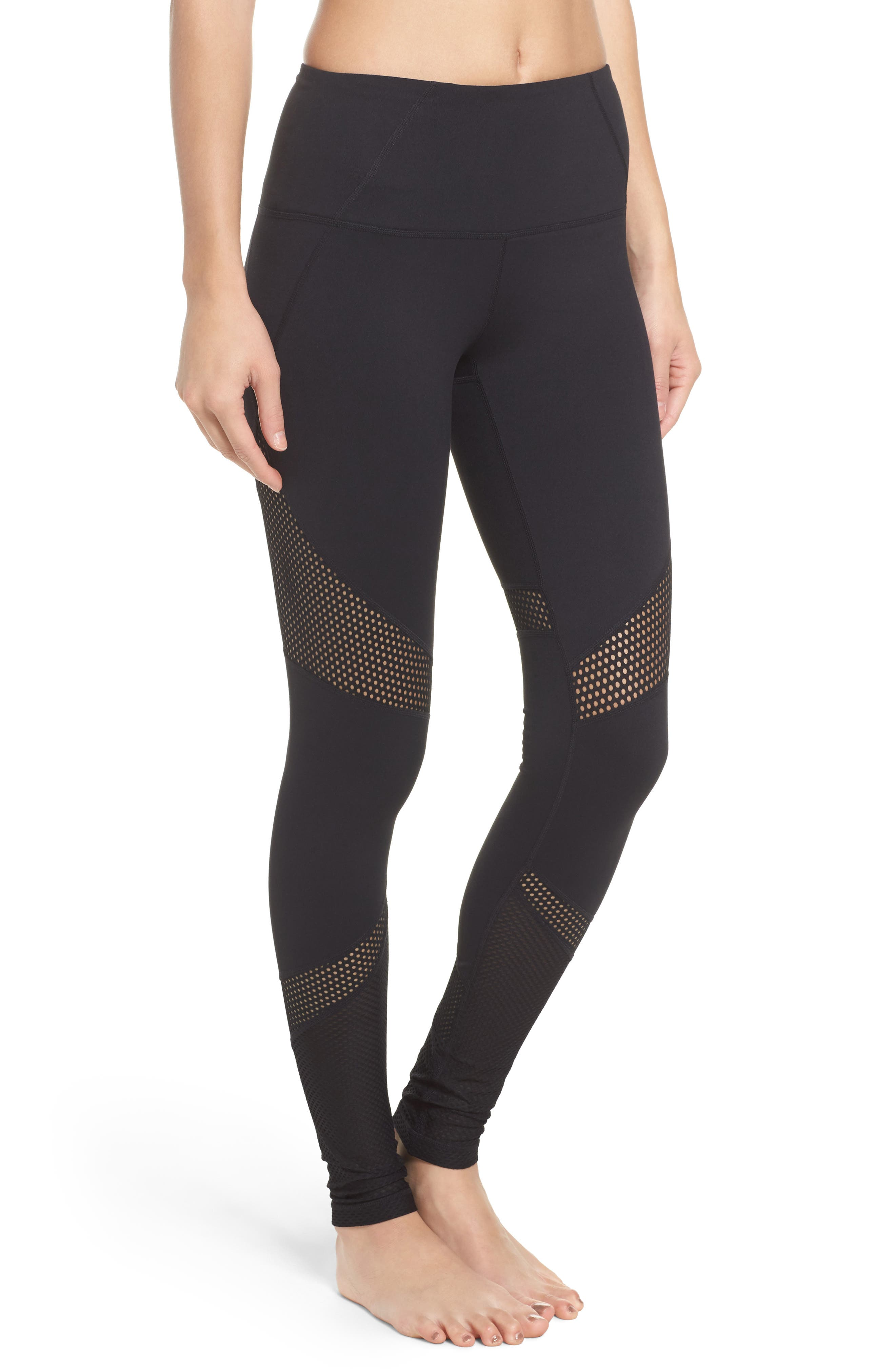 Out of Bounds High Waist Leggings,                         Main,                         color, 001