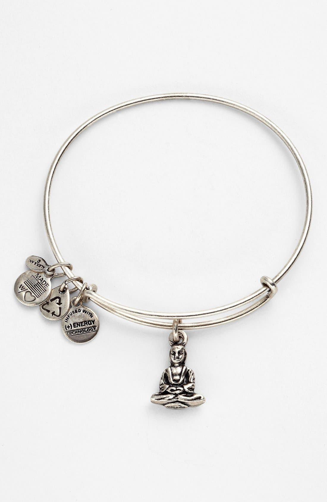 'Buddha' Expandable Wire Bangle,                             Alternate thumbnail 2, color,                             040