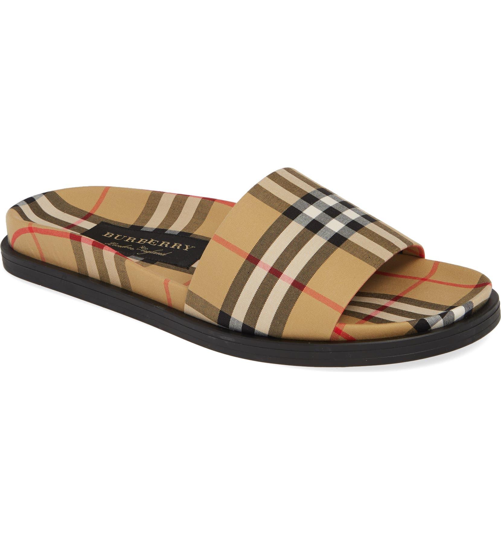 c37df3983aa16e Burberry Ashmore Slide Sandal (Men)