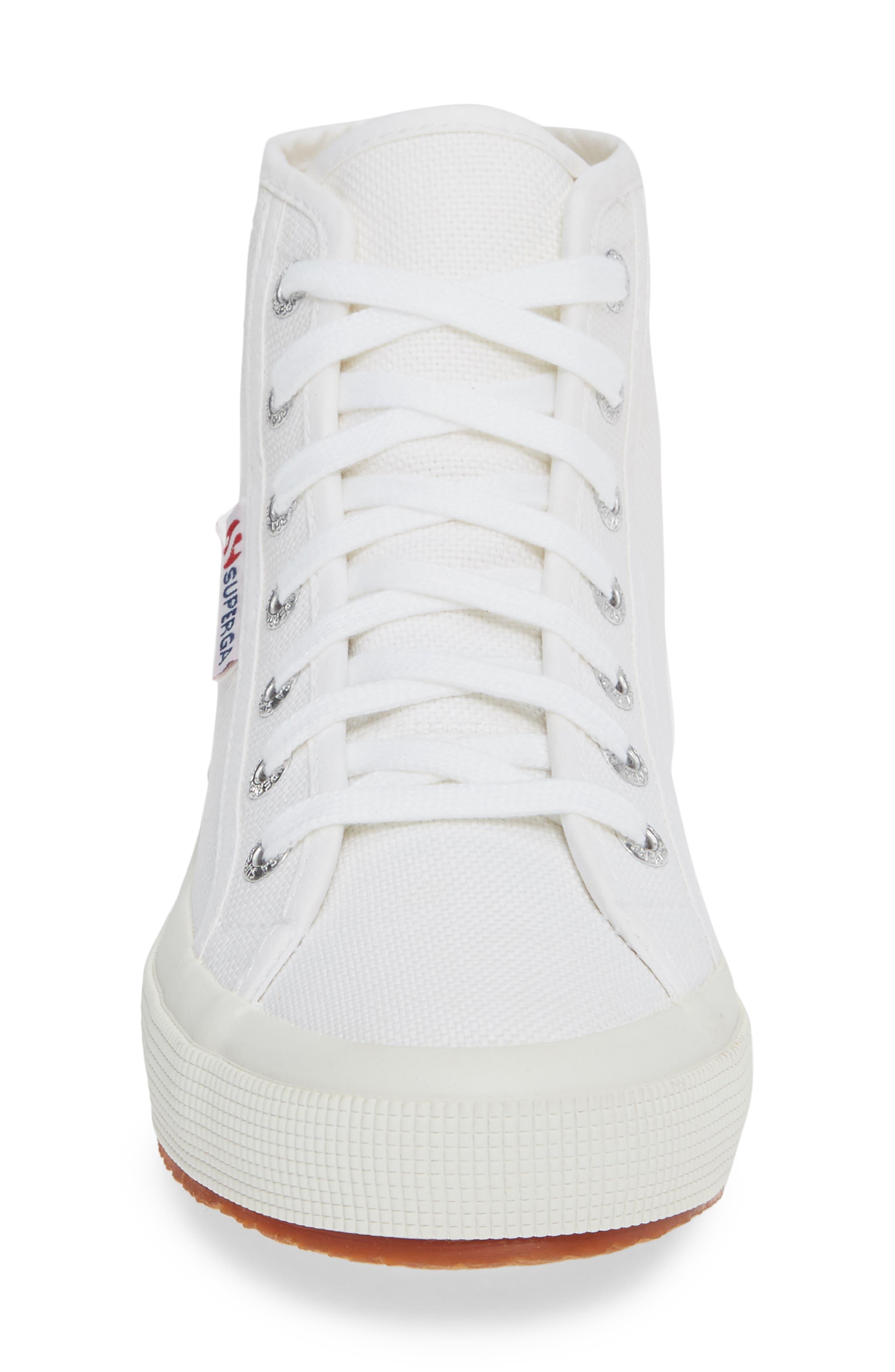 2795 High Top Sneaker,                             Alternate thumbnail 4, color,                             WHITE