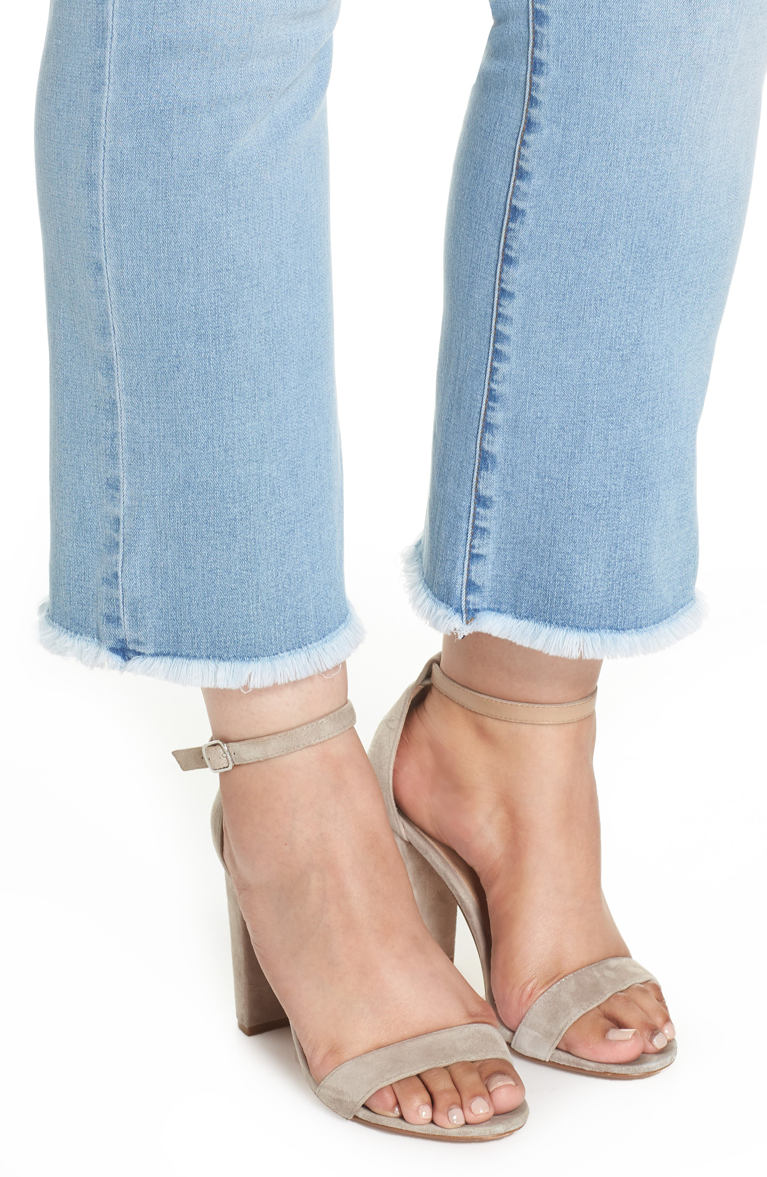 Stella Kick Flare Jeans,                             Alternate thumbnail 4, color,                             COMPETED