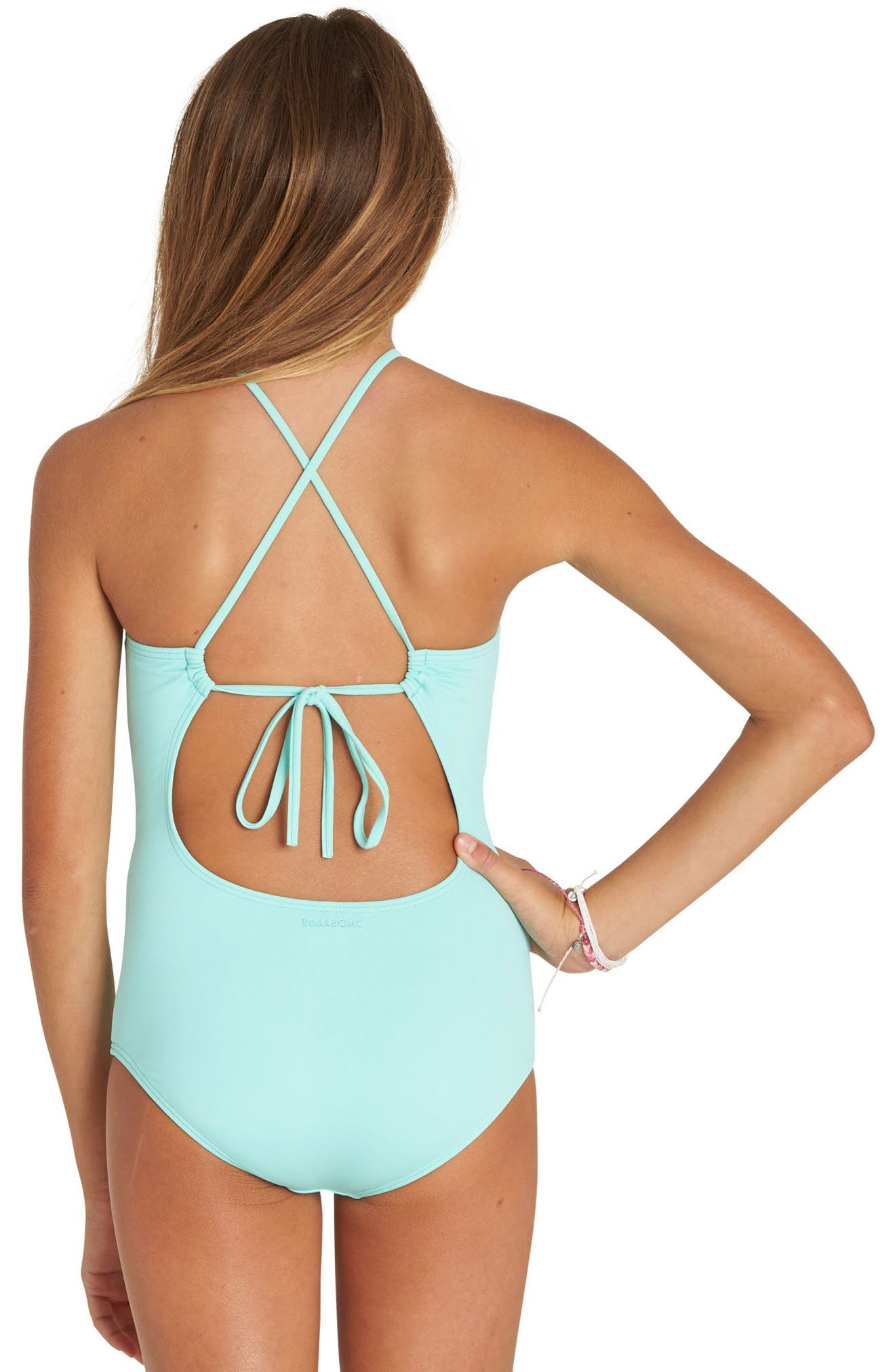 Sol Searcher One-Piece Swimsuit,                             Alternate thumbnail 4, color,                             414