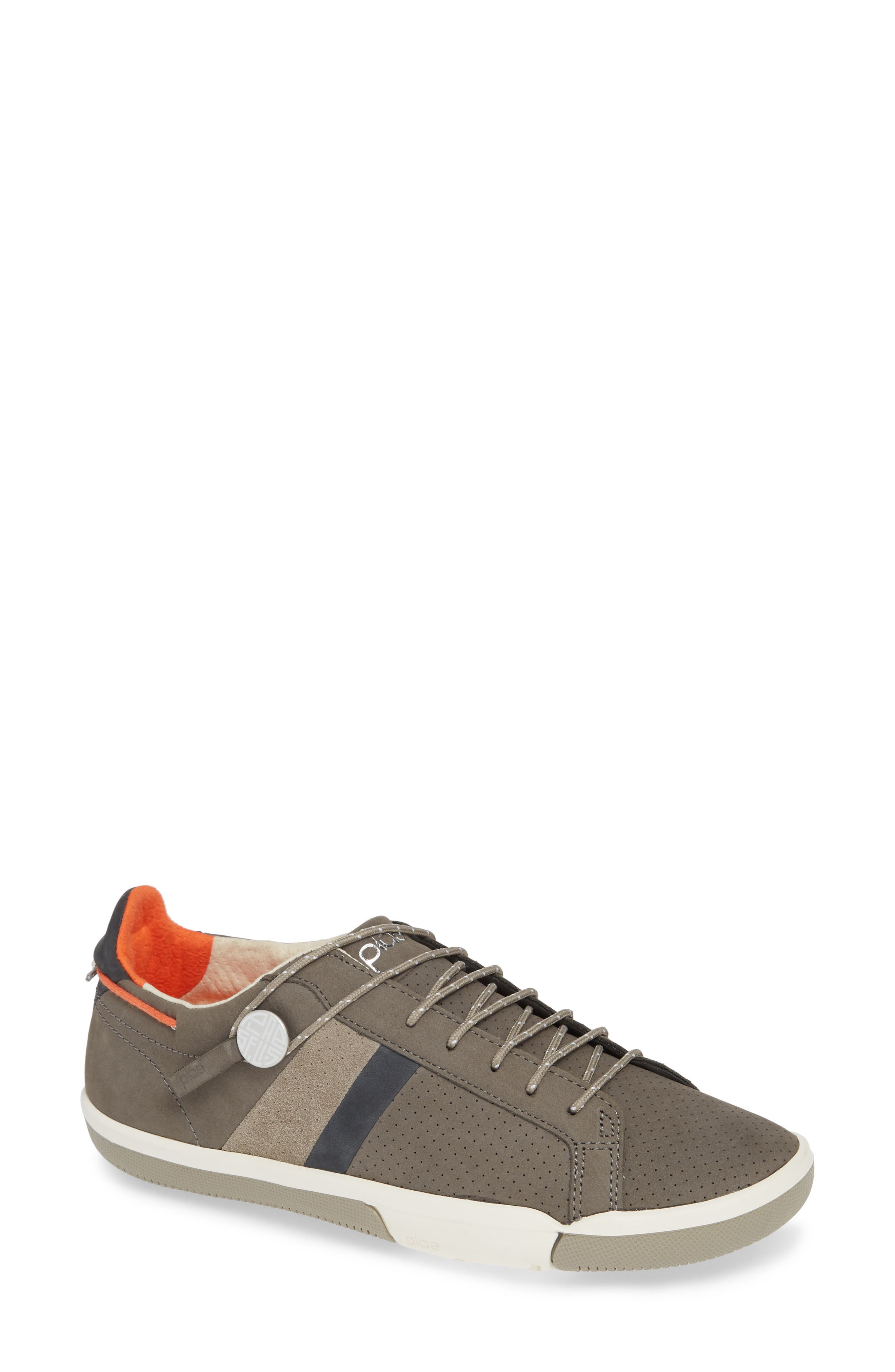 Mulberry Sneaker,                         Main,                         color, GREY NUBUCK LEATHER