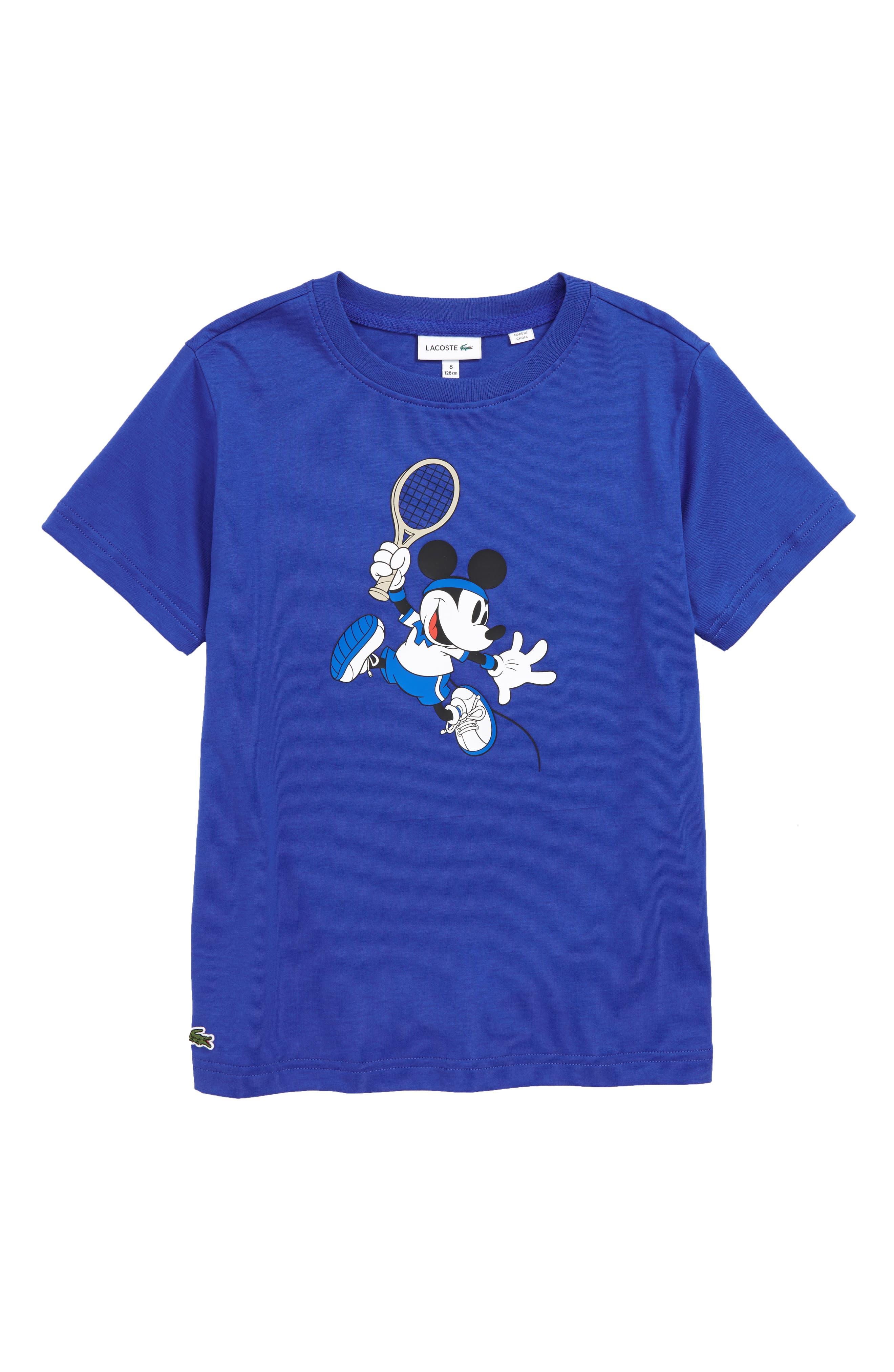 Boys Lacoste Disney Print Graphic TShirt