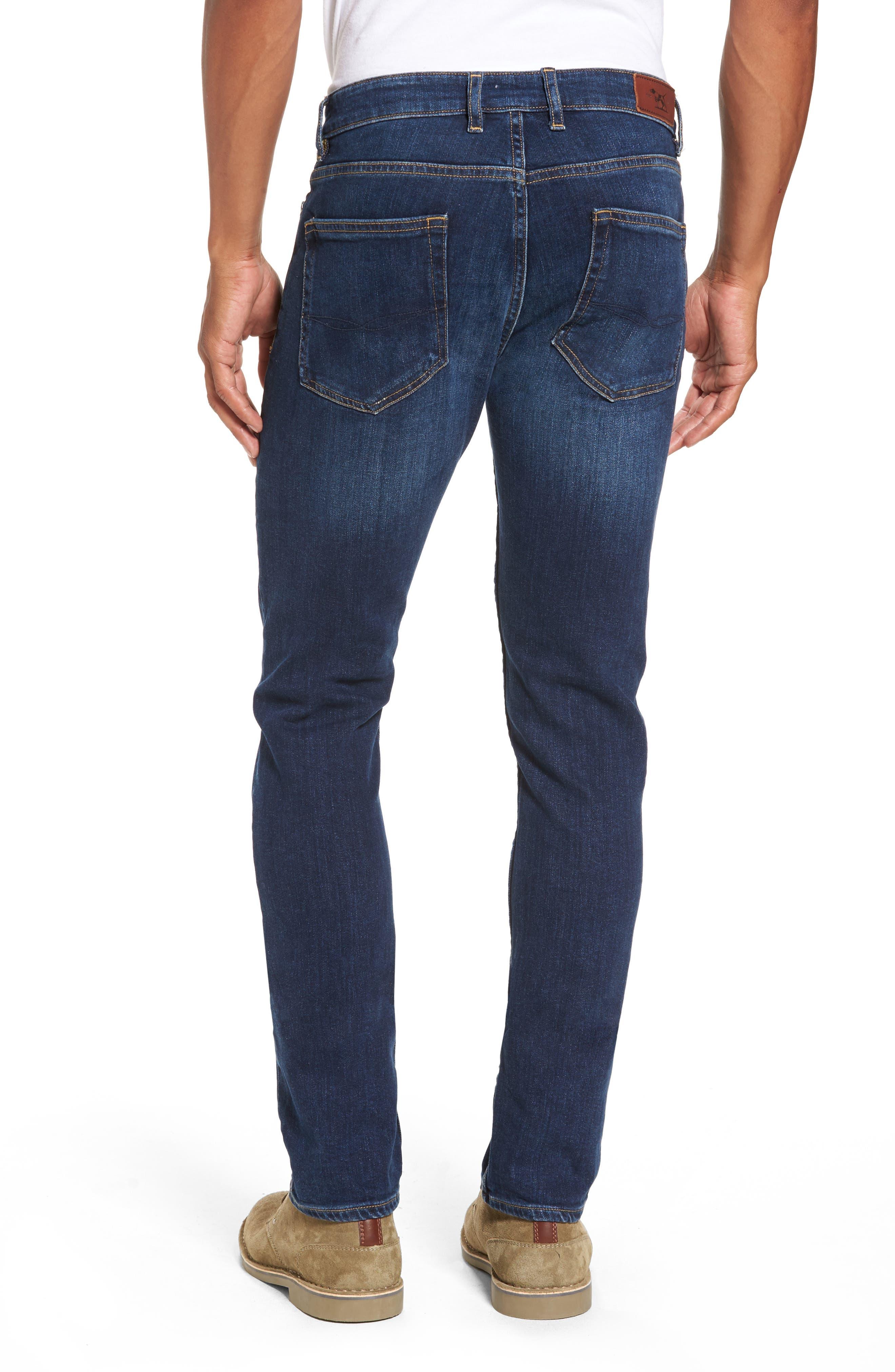 Derbyshire Slim Fit Jeans,                             Alternate thumbnail 2, color,                             DENIM