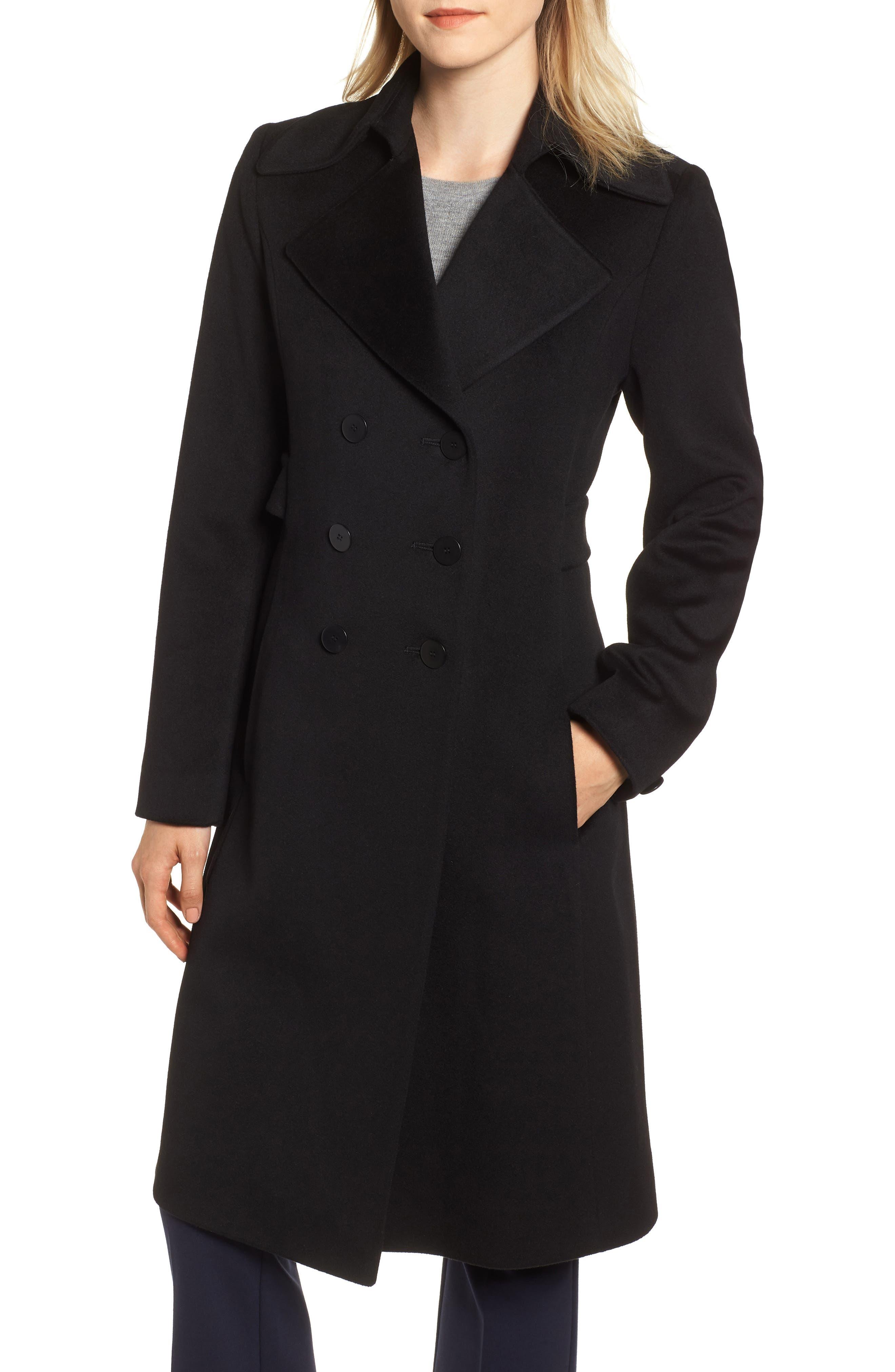 Double Breasted Loro Piana Wool Coat by Fleurette