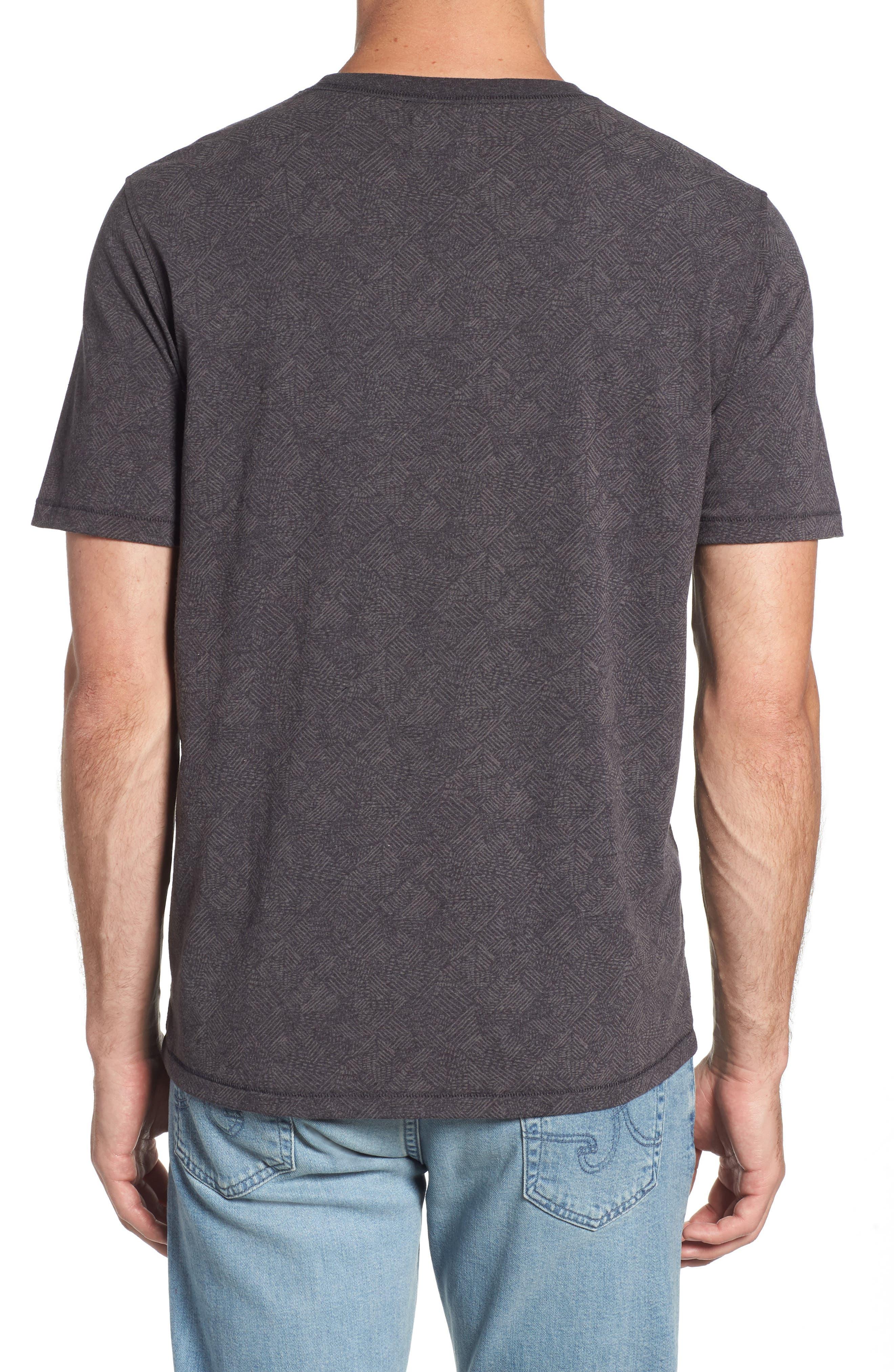 Field Line Crewneck T-Shirt,                             Alternate thumbnail 2, color,                             FIELD LINE
