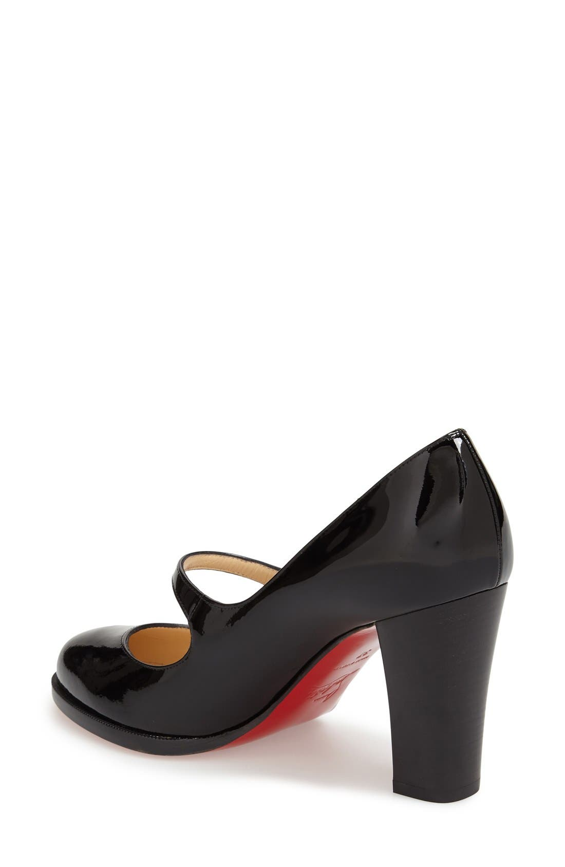Top Street Mary Jane Pump,                             Alternate thumbnail 2, color,                             001