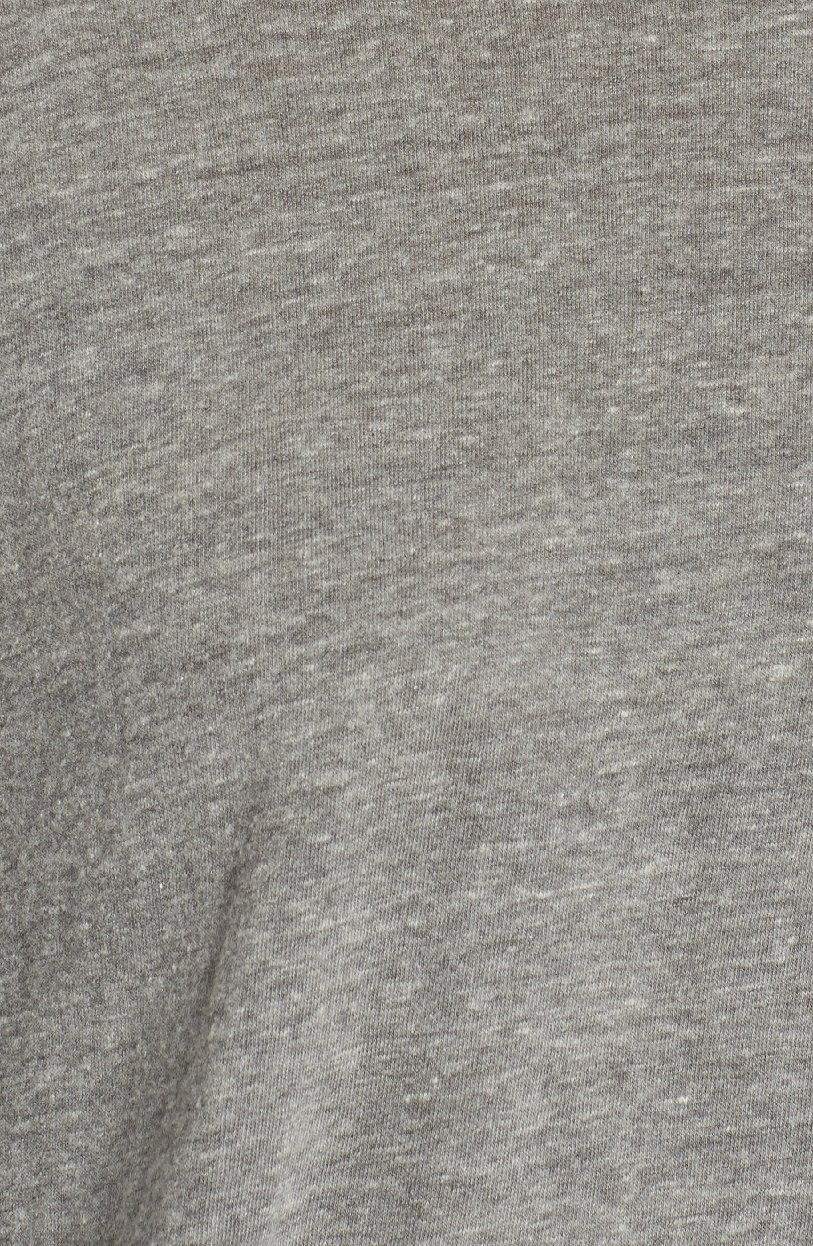 Long Sleeve Pocket Tee,                             Alternate thumbnail 5, color,                             HEATHER GREY