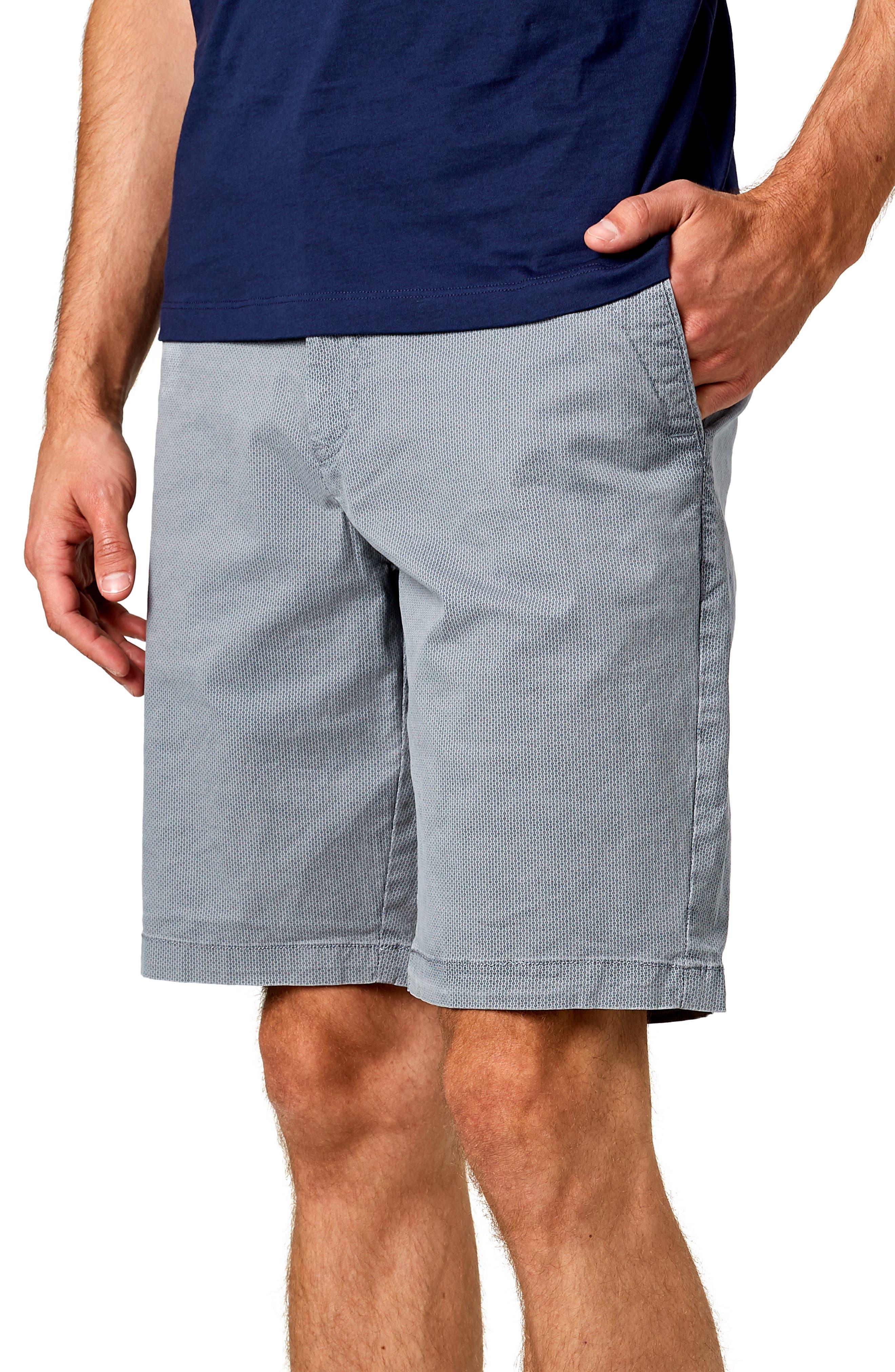 Acceleration Print Shorts,                             Alternate thumbnail 3, color,                             GREY