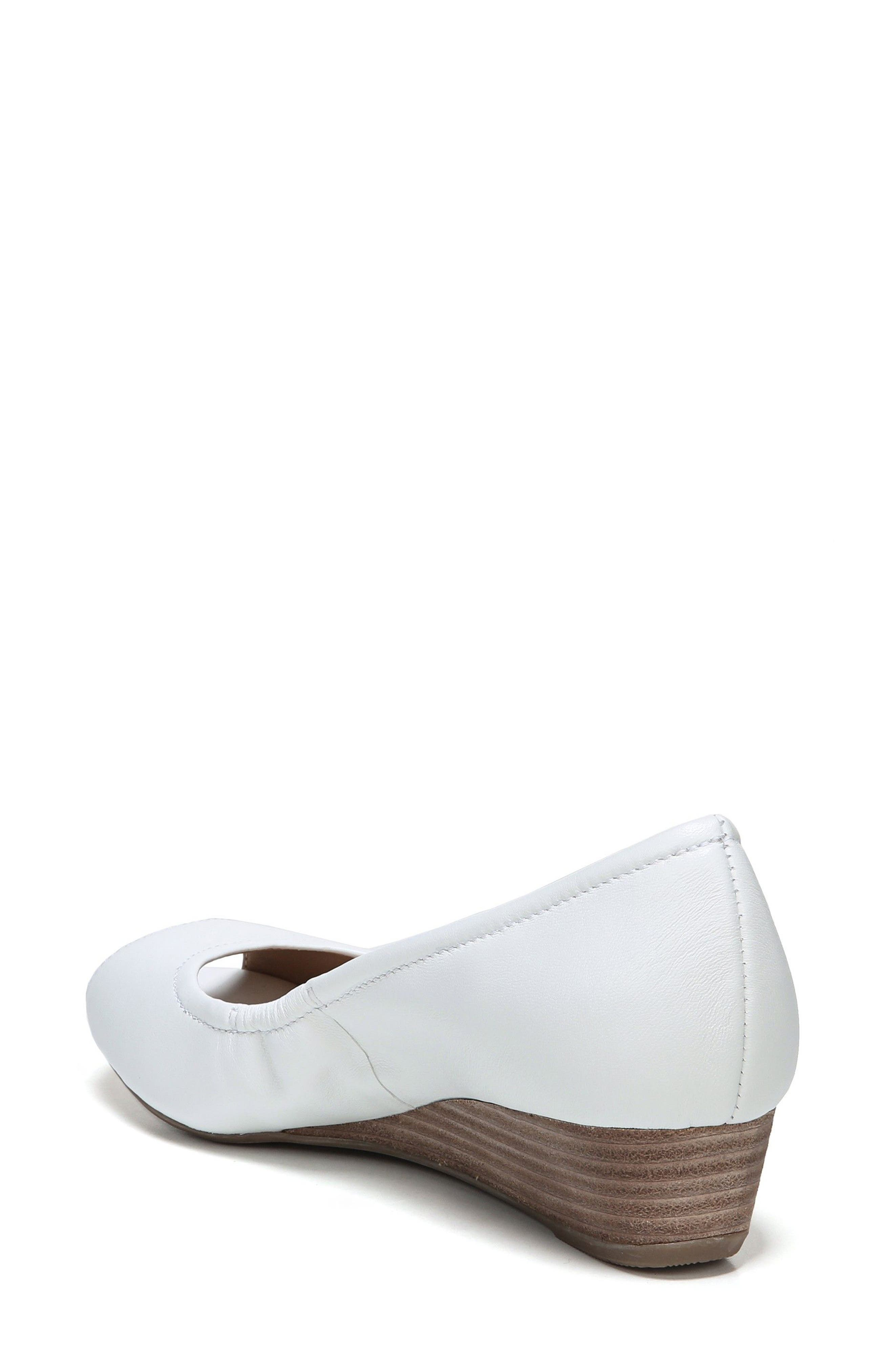 'Contrast' Peep Toe Wedge,                             Alternate thumbnail 6, color,