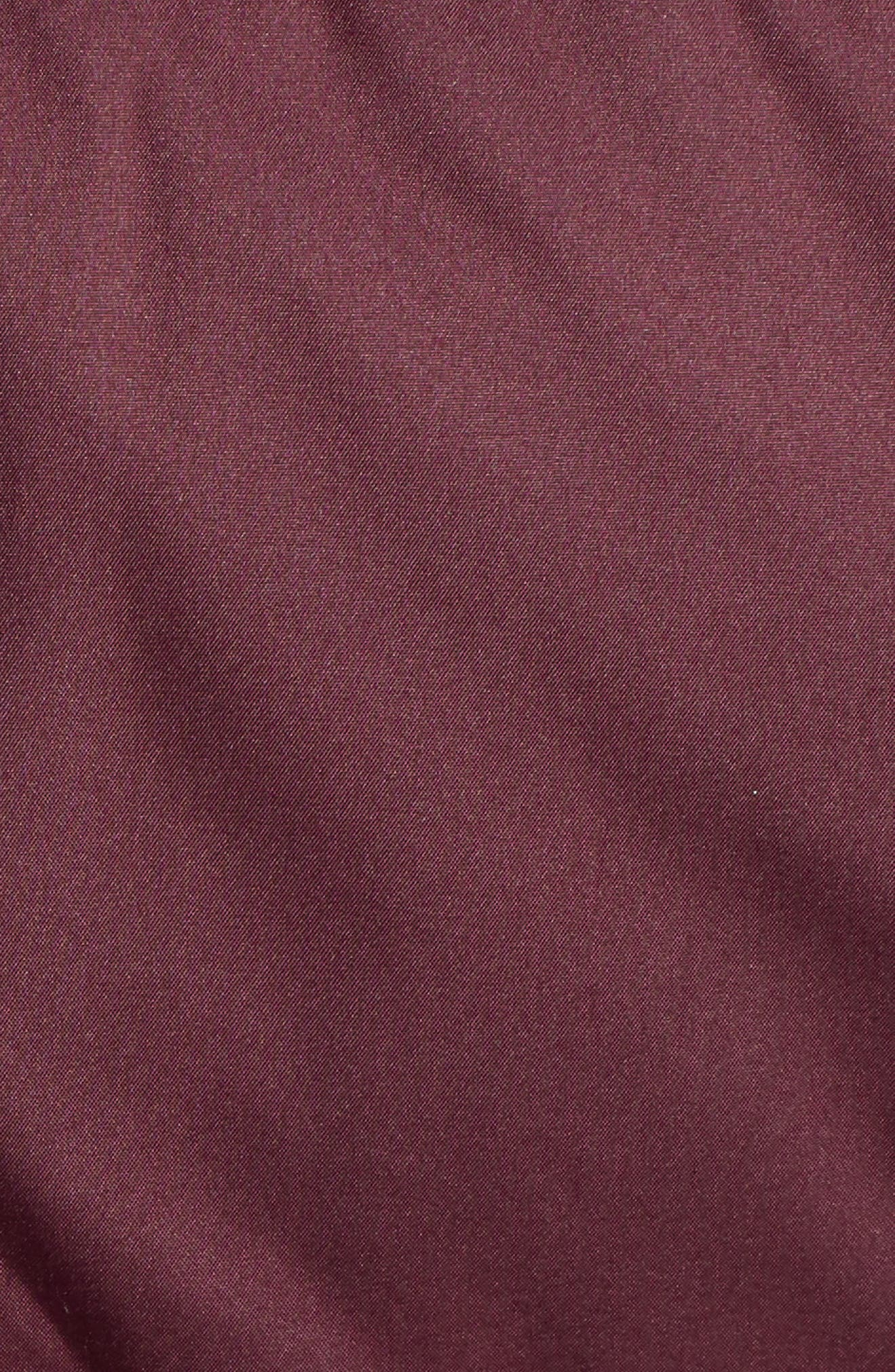 'Down with It' Water RepellentParka,                             Alternate thumbnail 7, color,                             DARK CURRANT