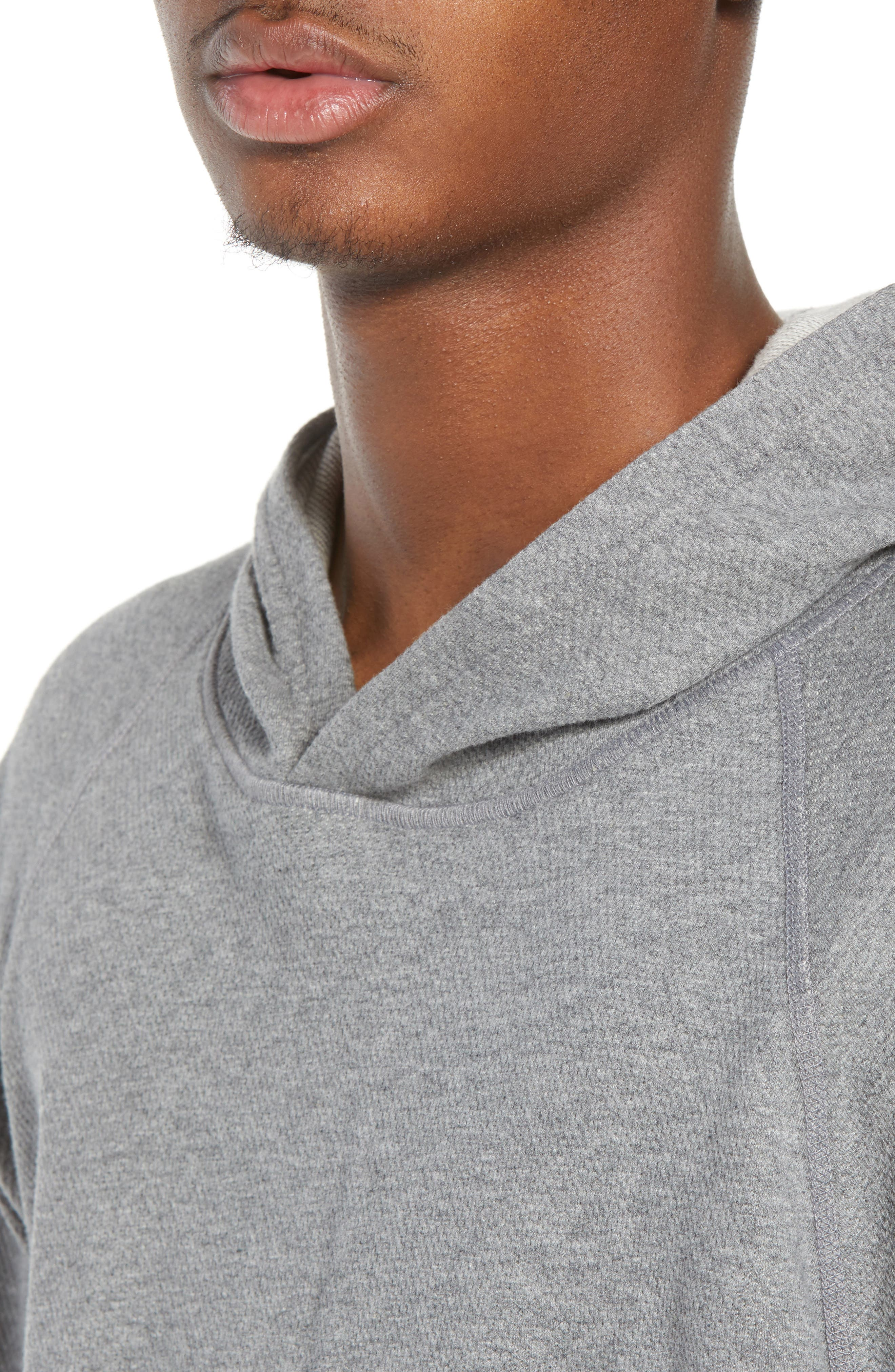 Mesh Jersey Hoodie,                             Alternate thumbnail 4, color,                             060