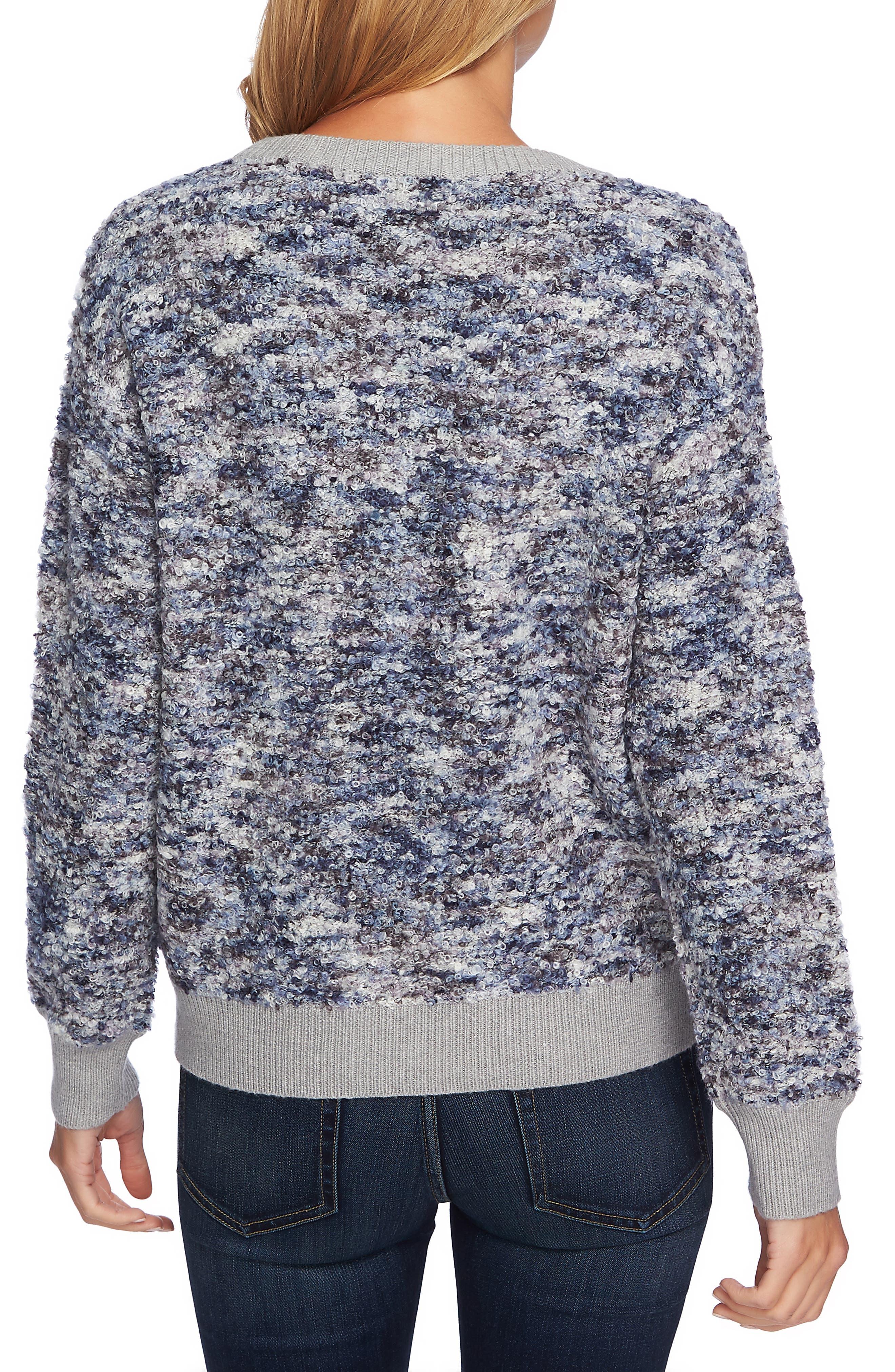 CECE,                             Bouclé Sweater,                             Alternate thumbnail 2, color,                             472