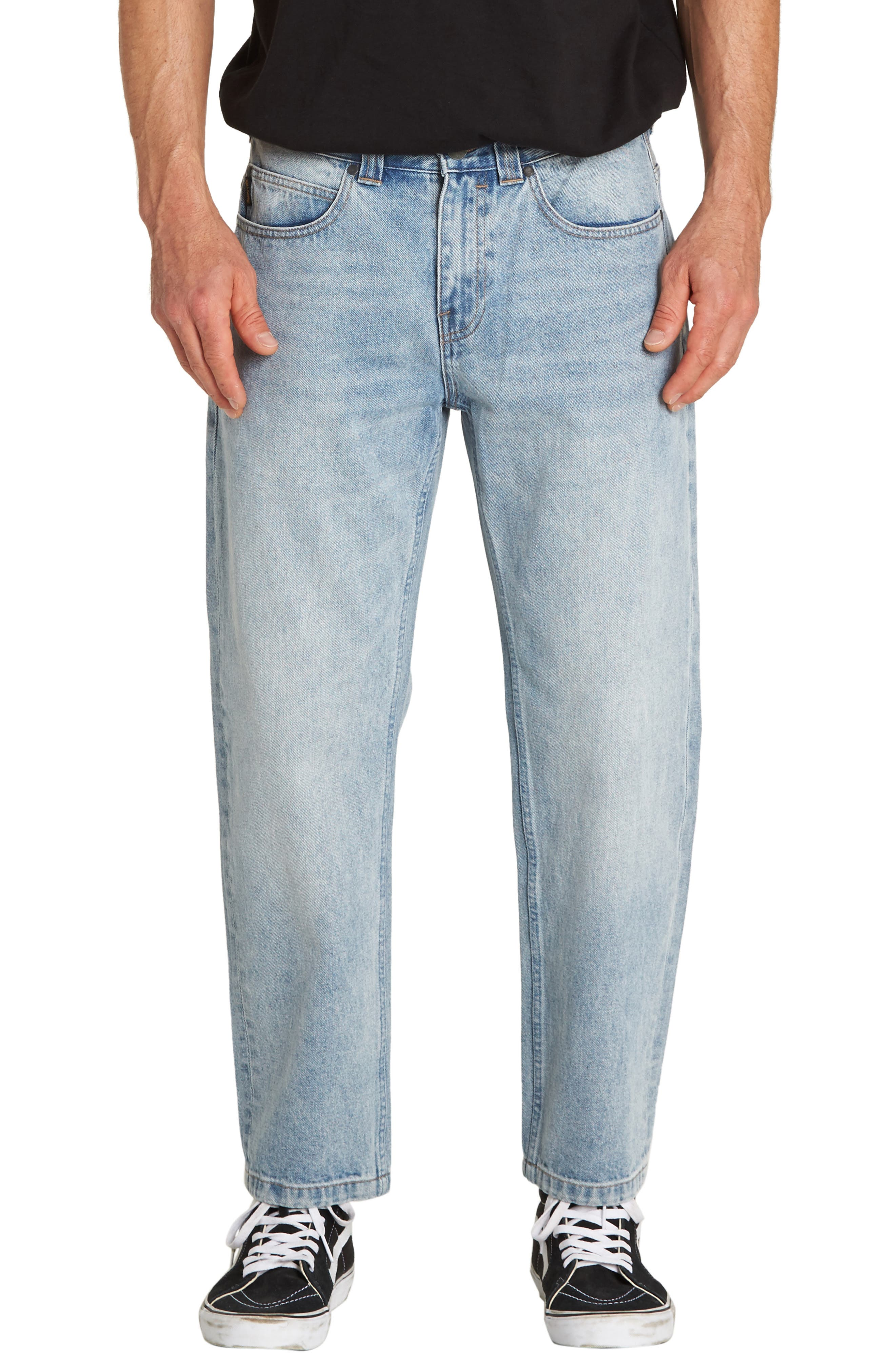 Fifty Crop Jeans,                         Main,                         color, INDIGO BLEACH