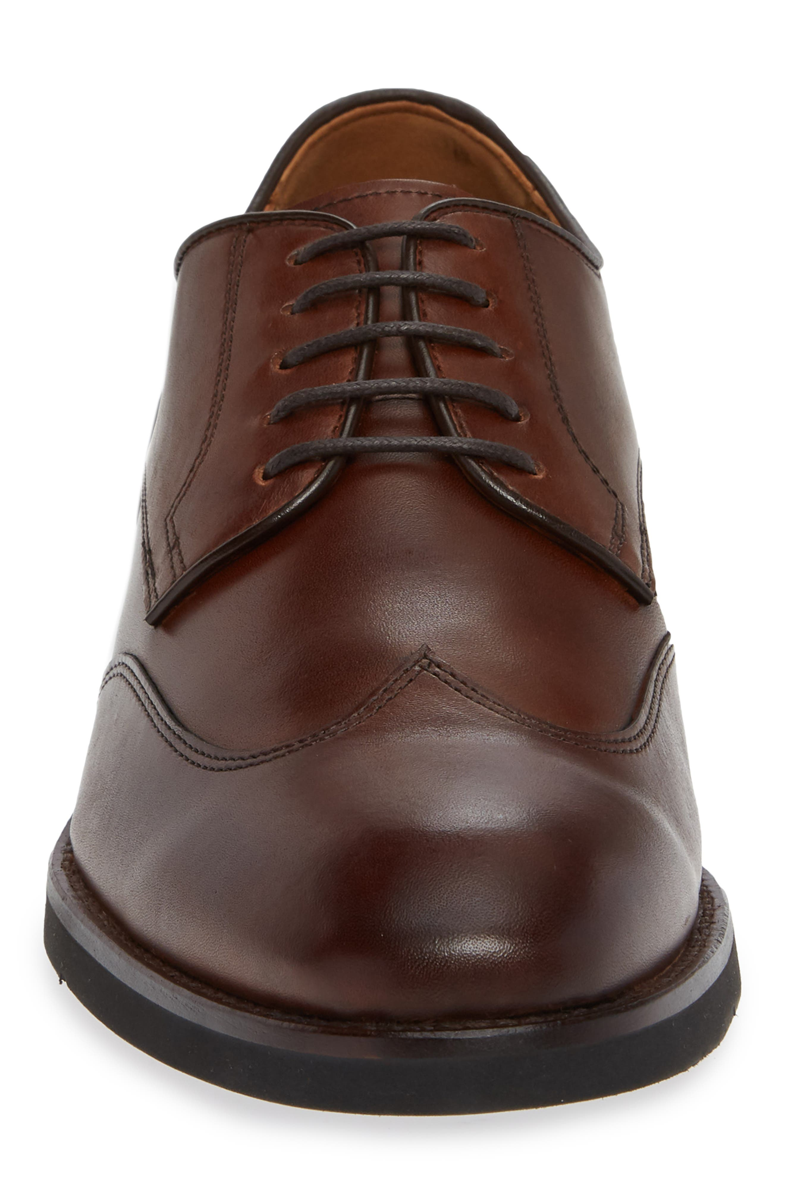 Carlson Wingtip,                             Alternate thumbnail 4, color,                             OAK LEATHER