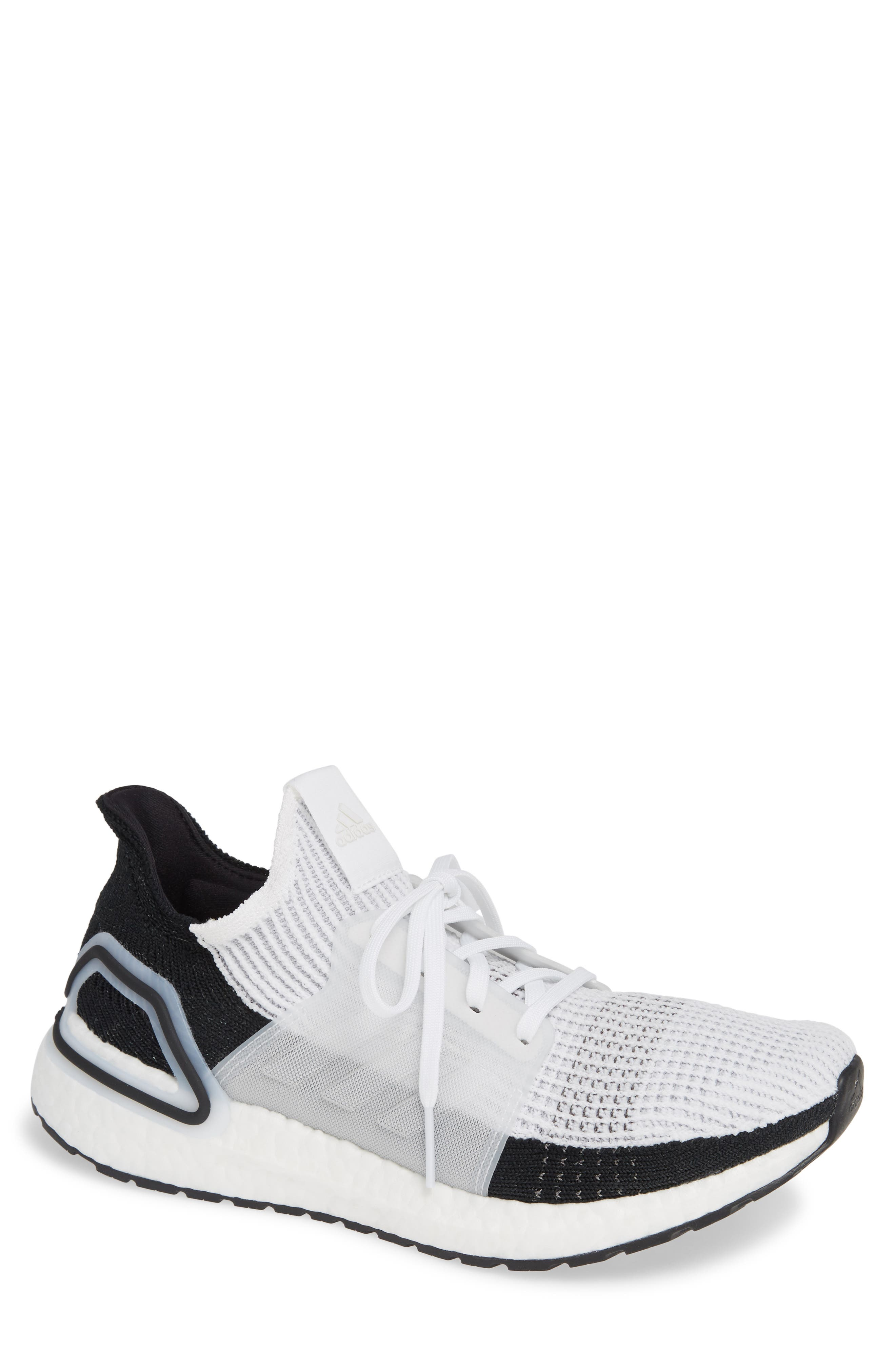 eb70df5cb Adidas Originals Ultraboost 19 Running Shoe In White  White  Grey ...
