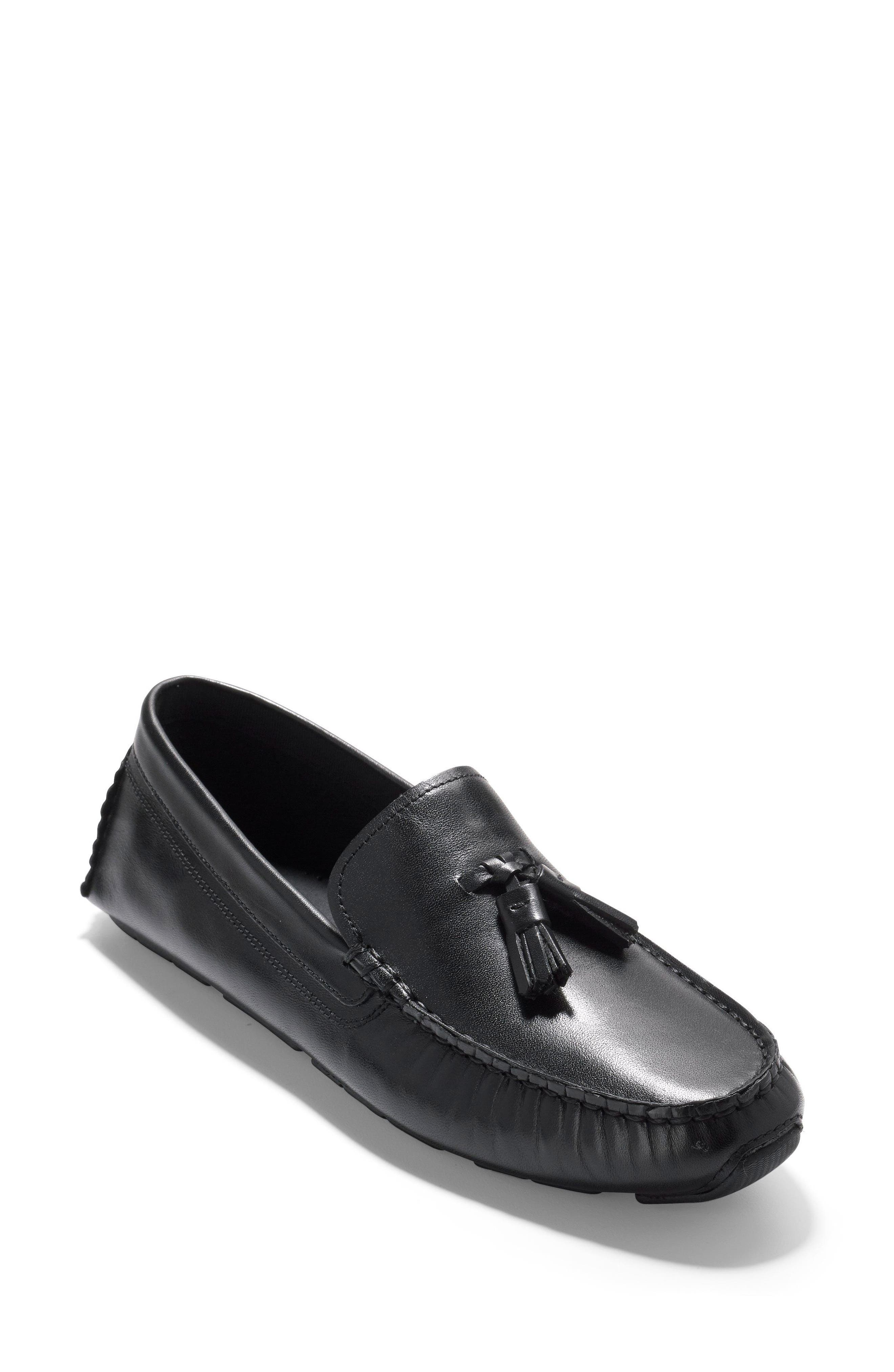 Rodeo Tassel Driving Loafer,                         Main,                         color, 001
