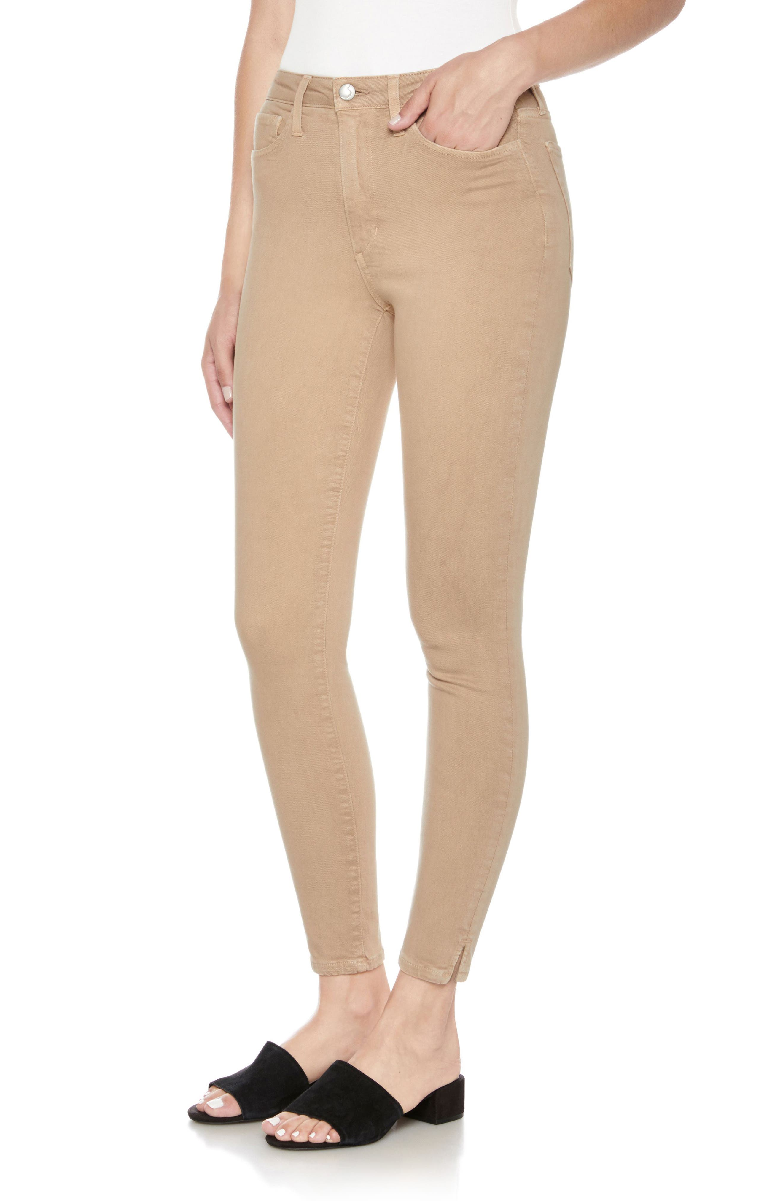 Charlie High Waist Ankle Skinny Jeans,                             Main thumbnail 1, color,                             275