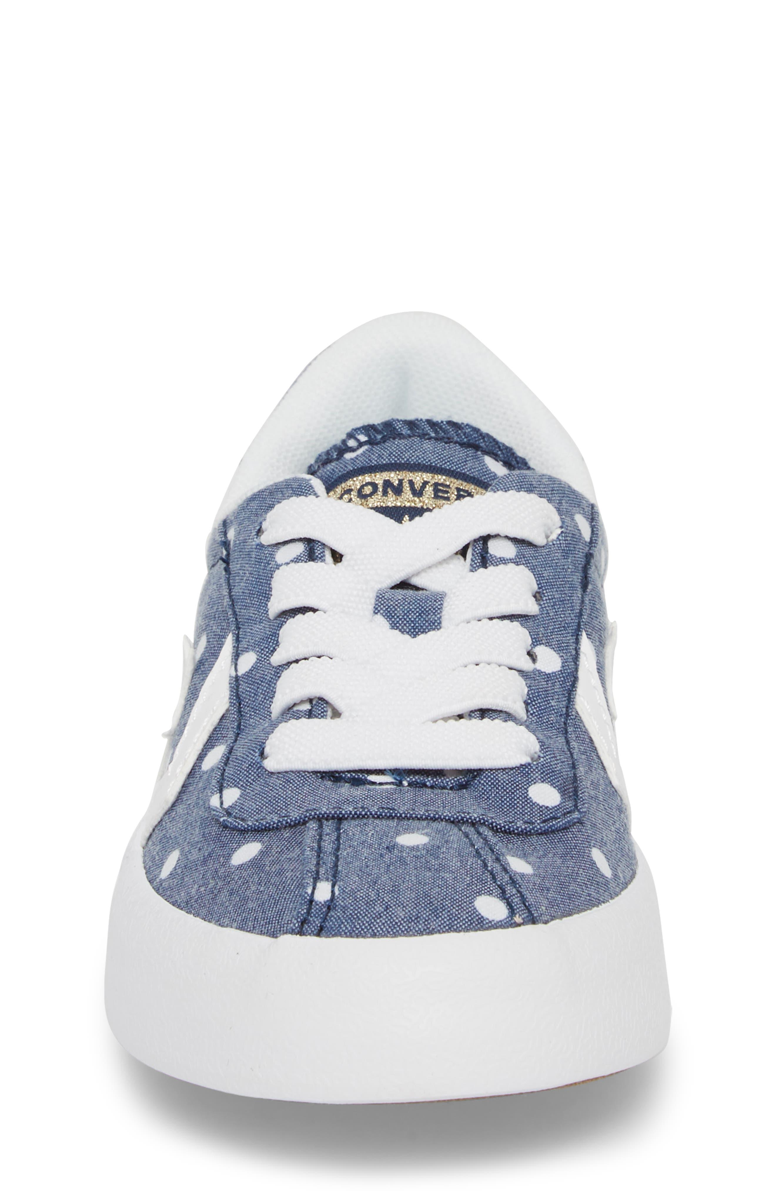 Breakpoint Polka Dot Sneaker,                             Alternate thumbnail 4, color,                             426