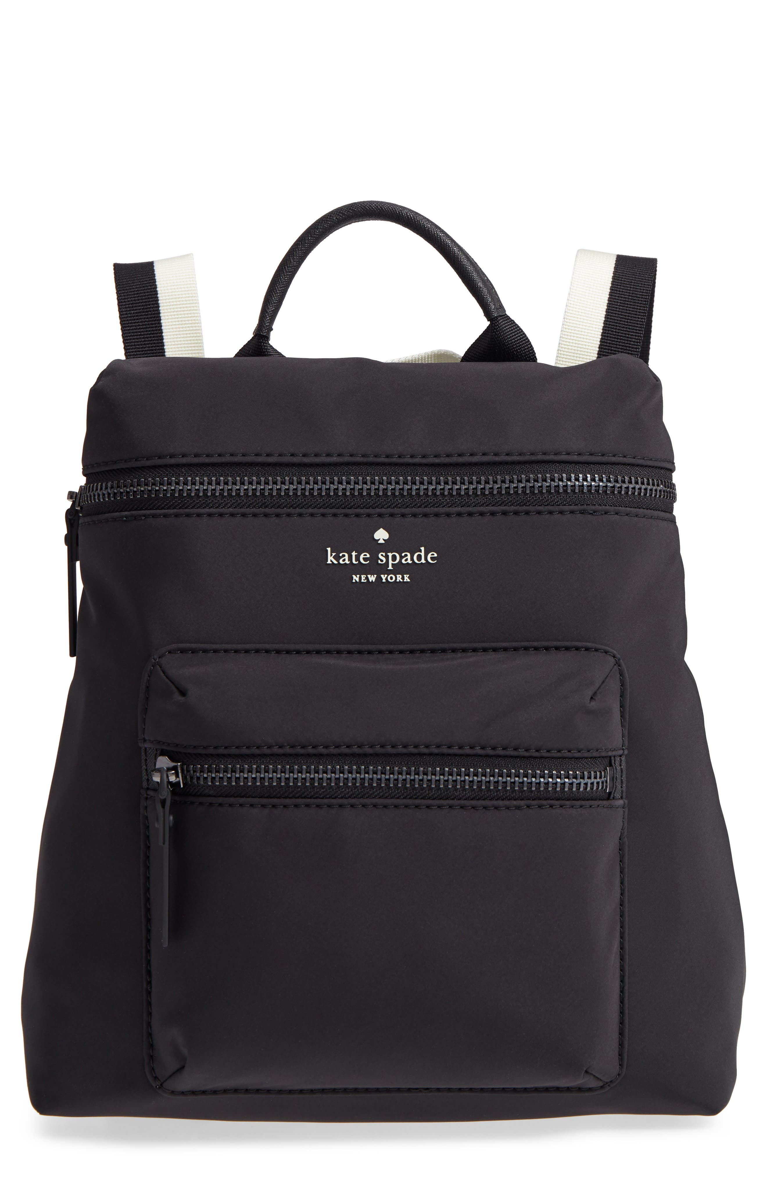 that's the spirit mini nylon convertible backpack,                         Main,                         color, BLACK