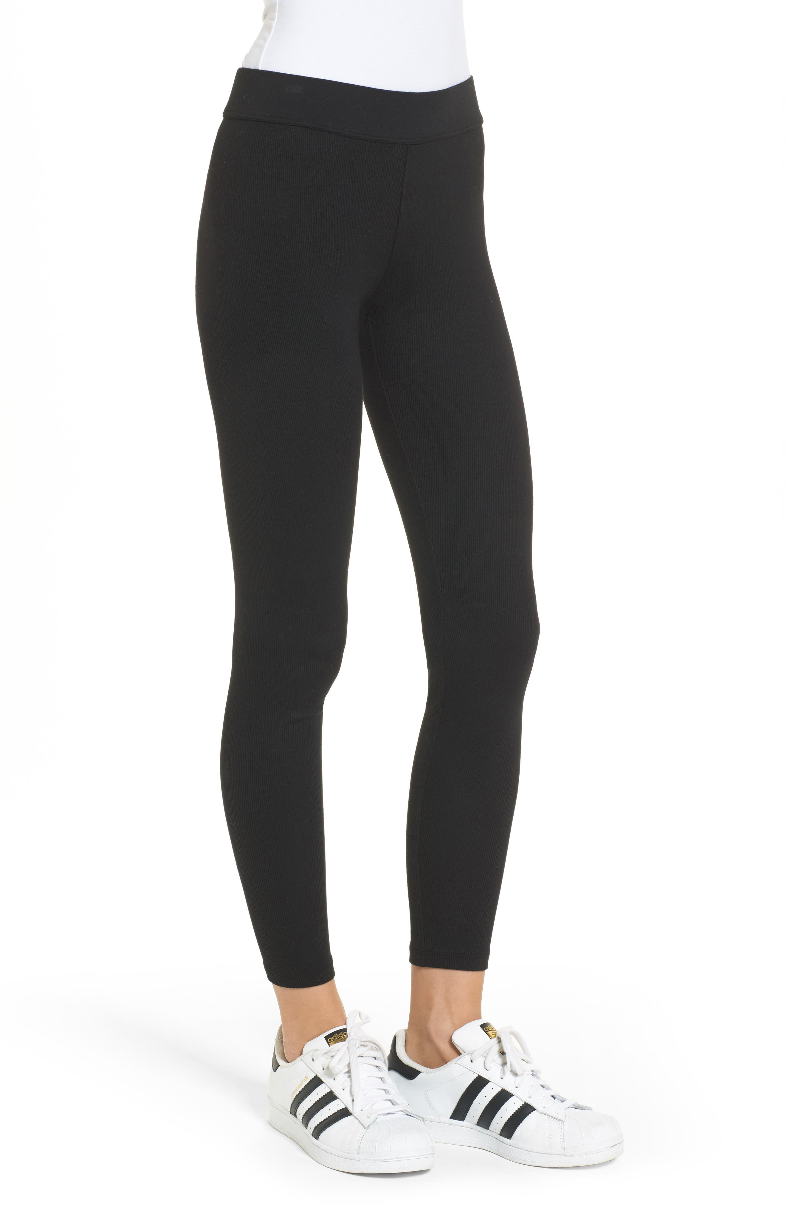 Ribbed Leggings,                             Alternate thumbnail 3, color,