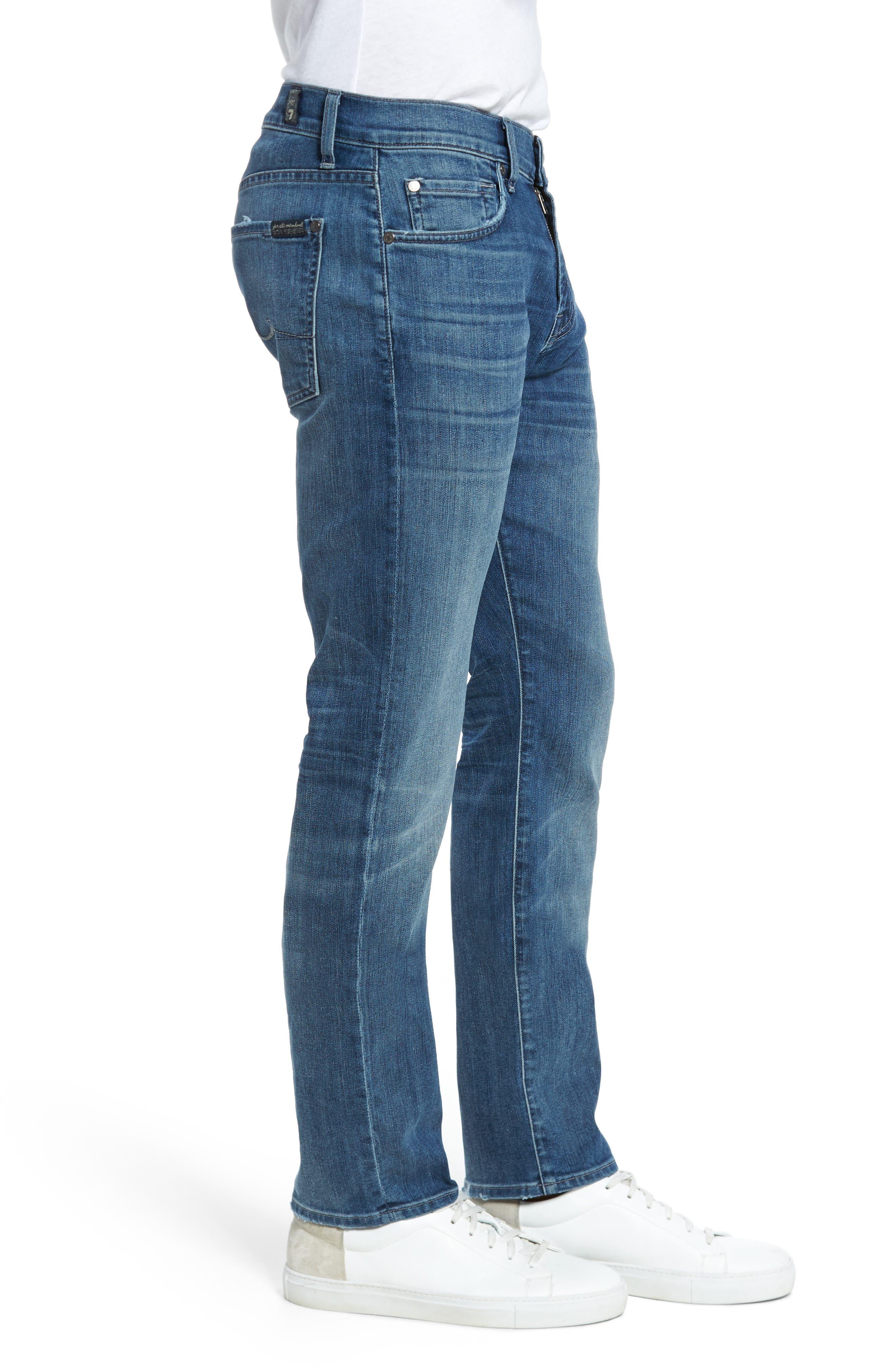 The Straight Slim Straight Leg Jeans,                             Alternate thumbnail 3, color,                             408