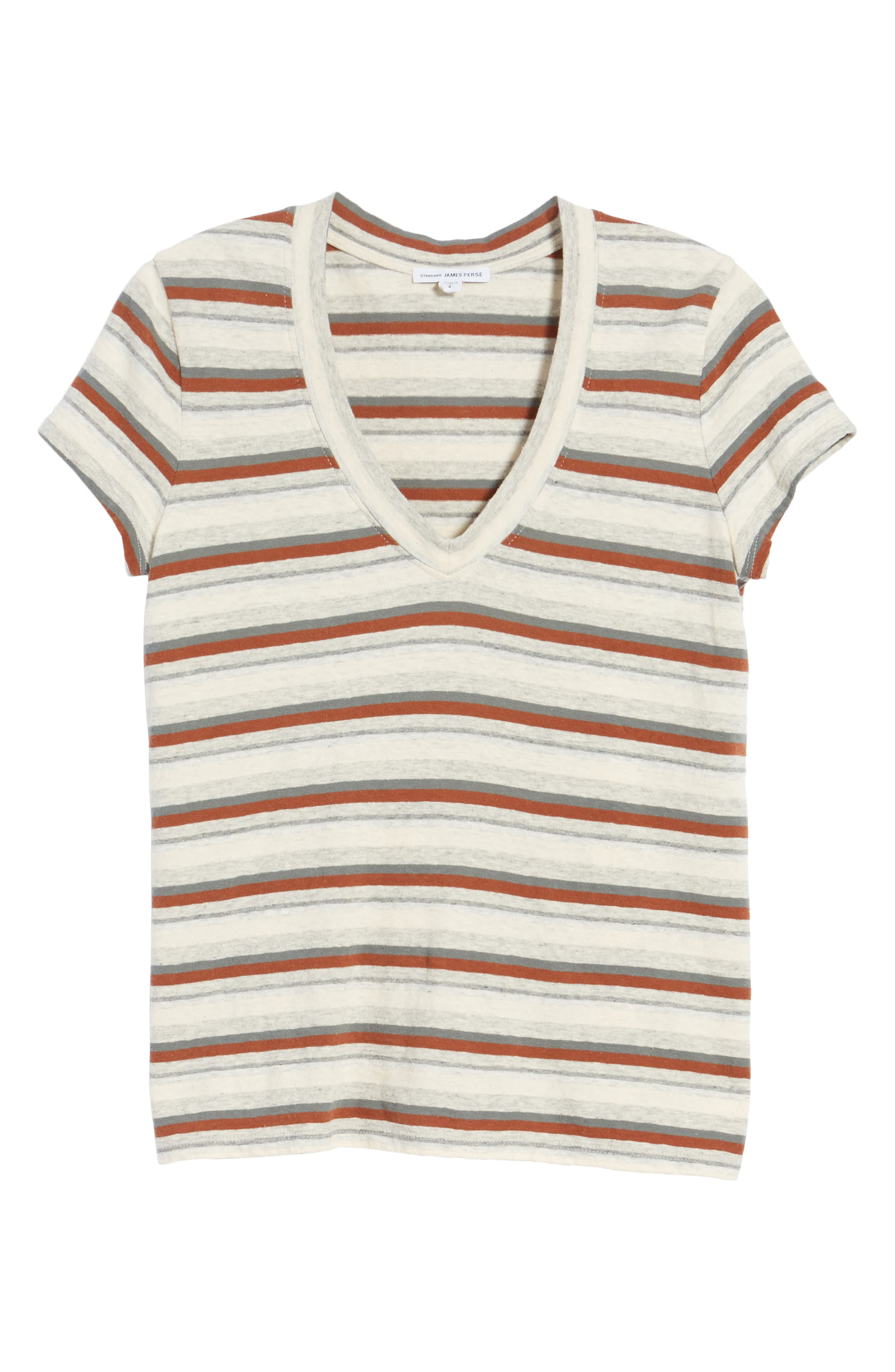 Stripe Tee,                             Alternate thumbnail 6, color,                             038