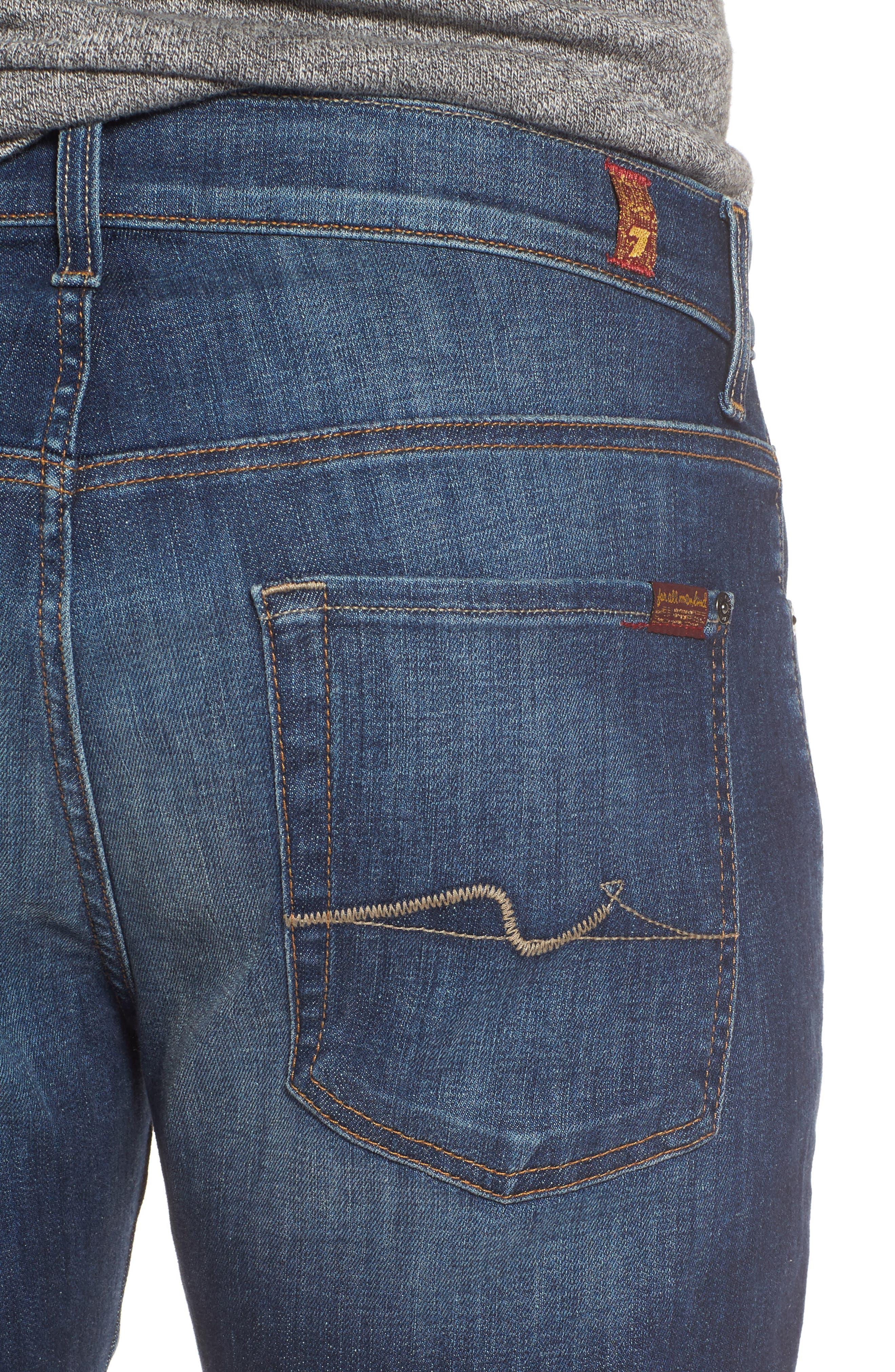 Brett Bootcut Jeans,                             Alternate thumbnail 4, color,                             400