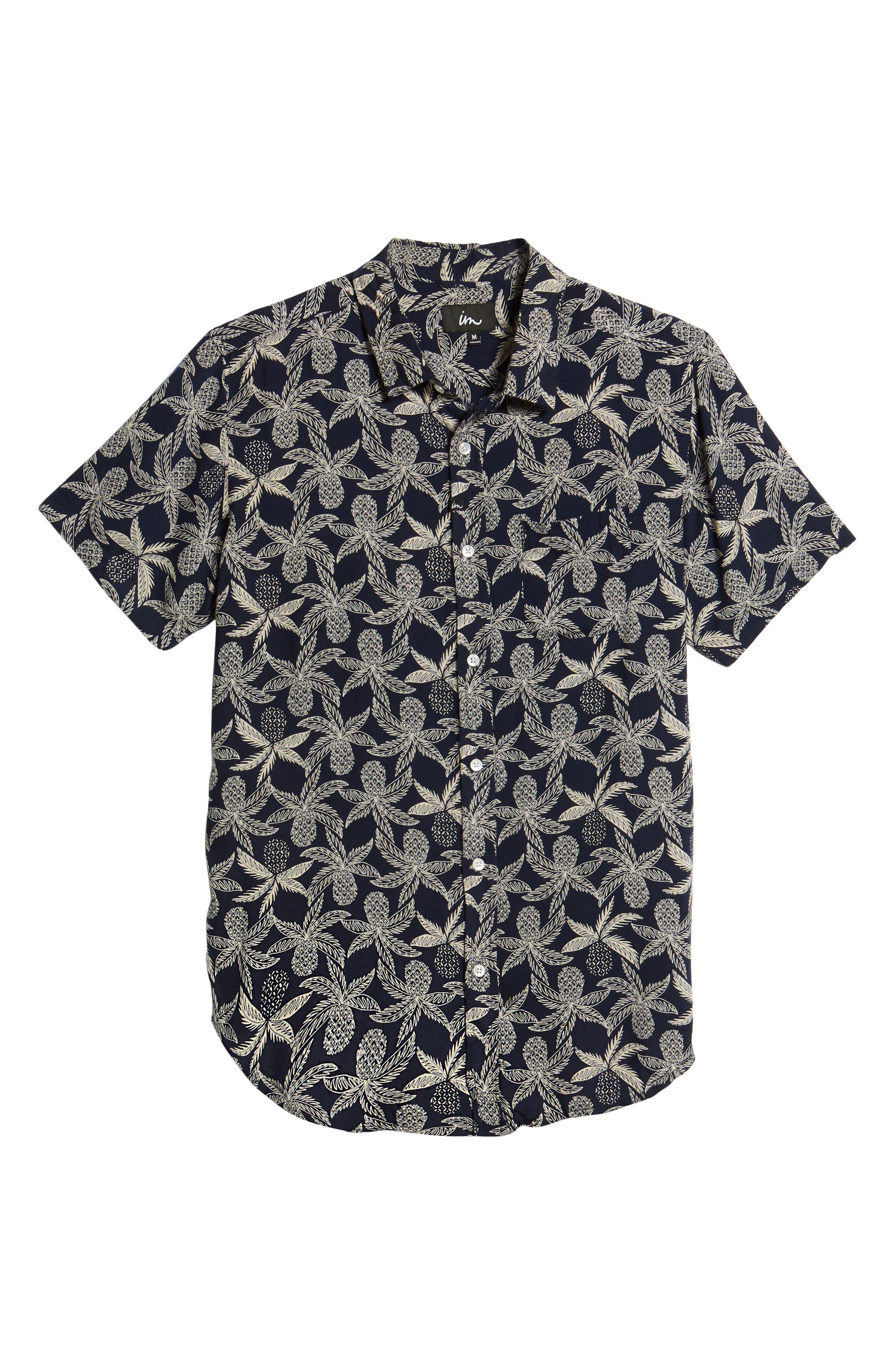 Vacay Woven Shirt,                             Alternate thumbnail 6, color,