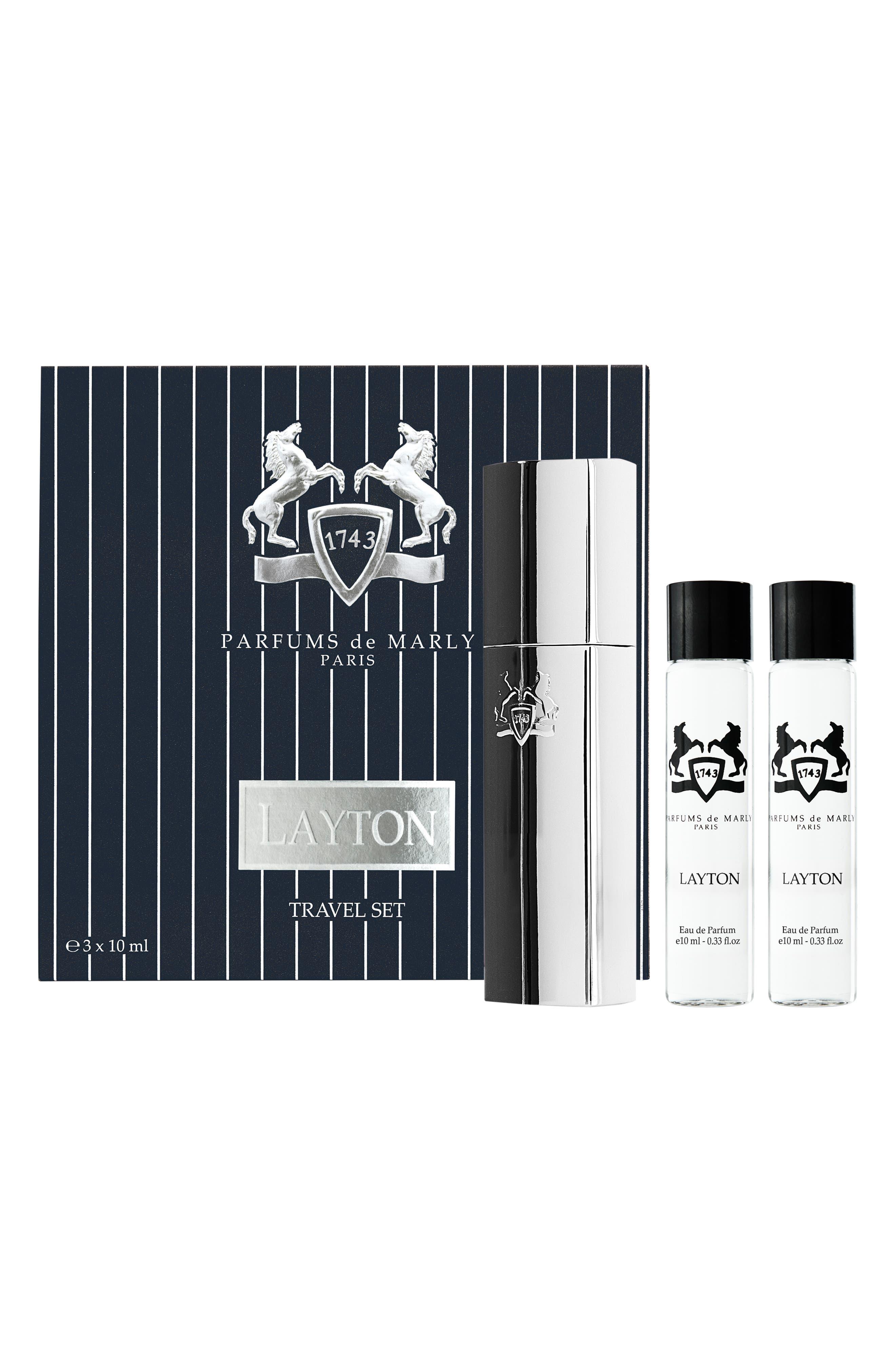 Layton Eau de Parfum Travel Spray Set,                             Alternate thumbnail 2, color,                             NO COLOR
